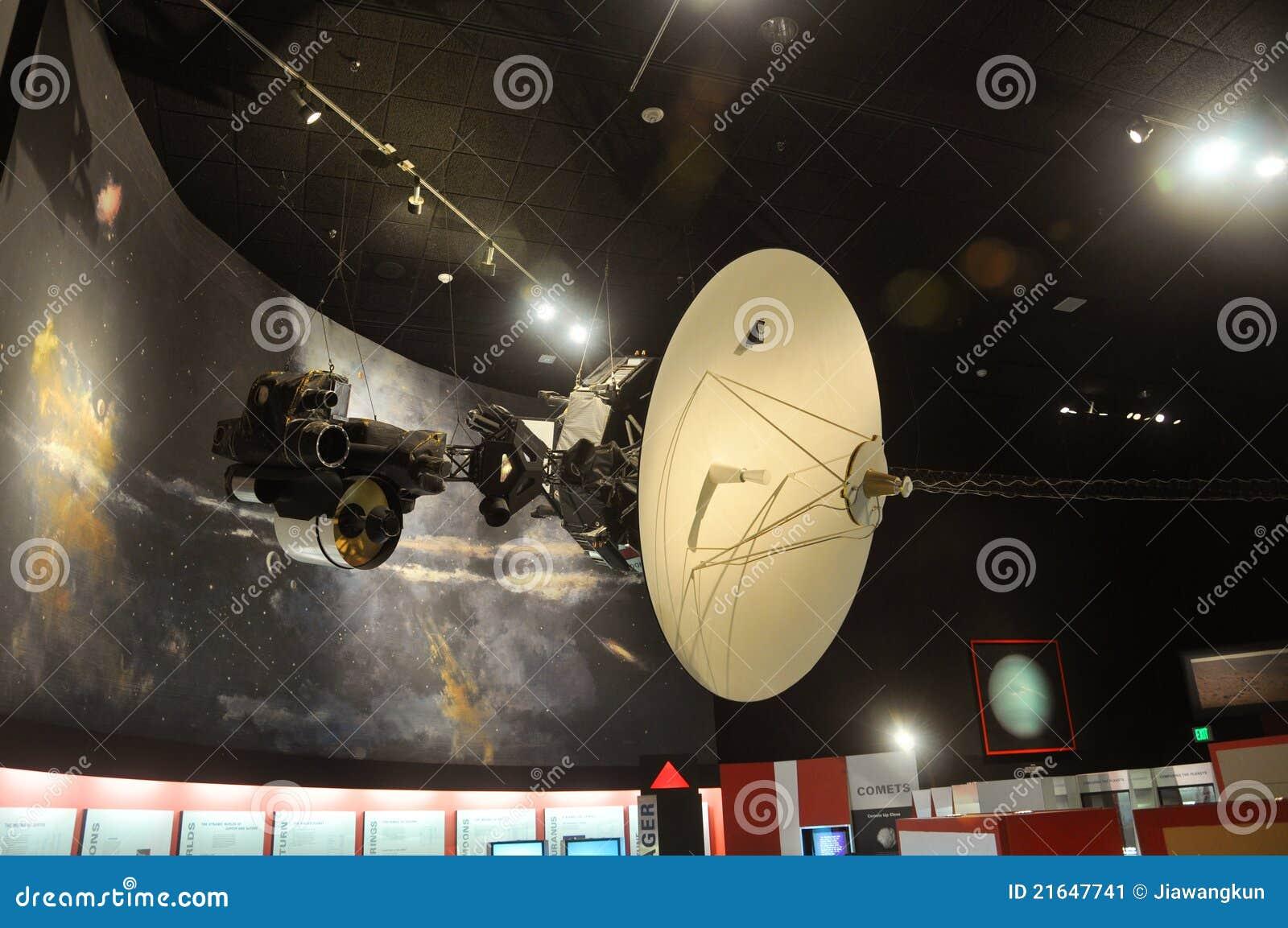 Voyager космоса модельного музея воздуха национальный