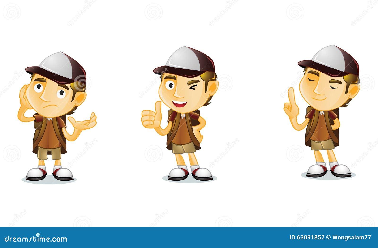 Download Voyageur 2 illustration de vecteur. Illustration du illustration - 63091852