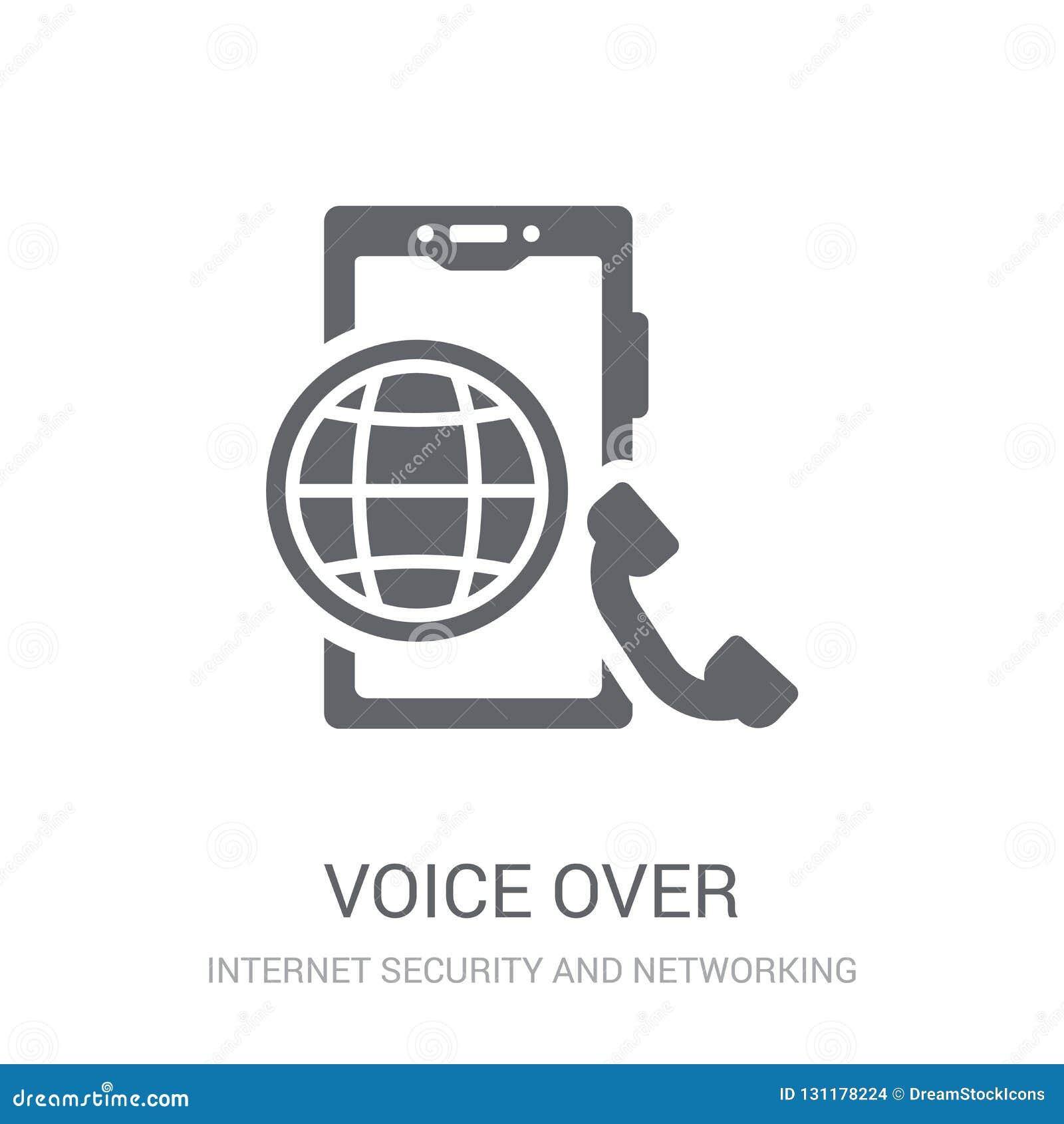 Voz sobre icono del Internet Protocol