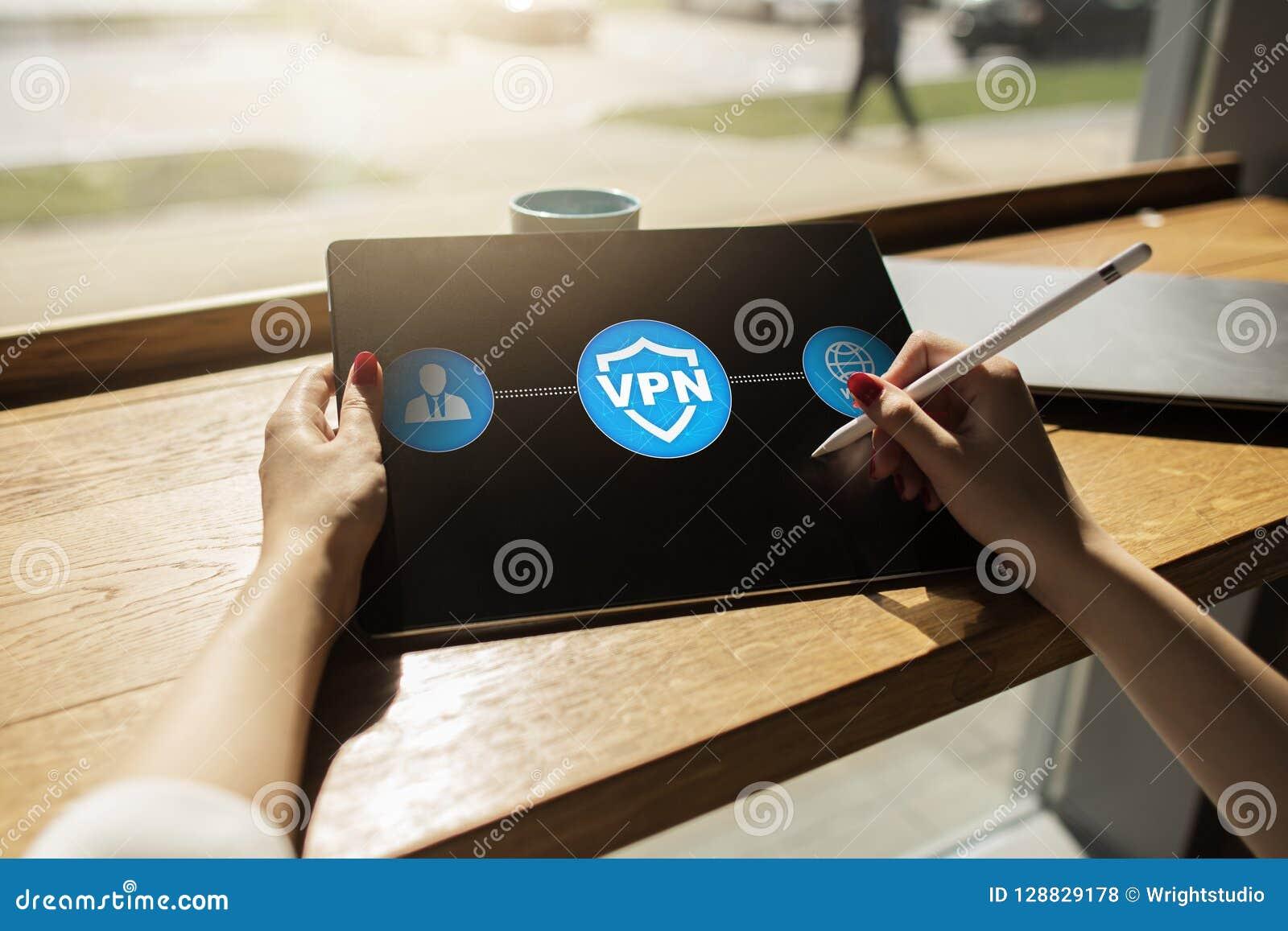 VPN Faktiskt privat nätverk Säkerhet kodad anslutning Anonymt använda för internet