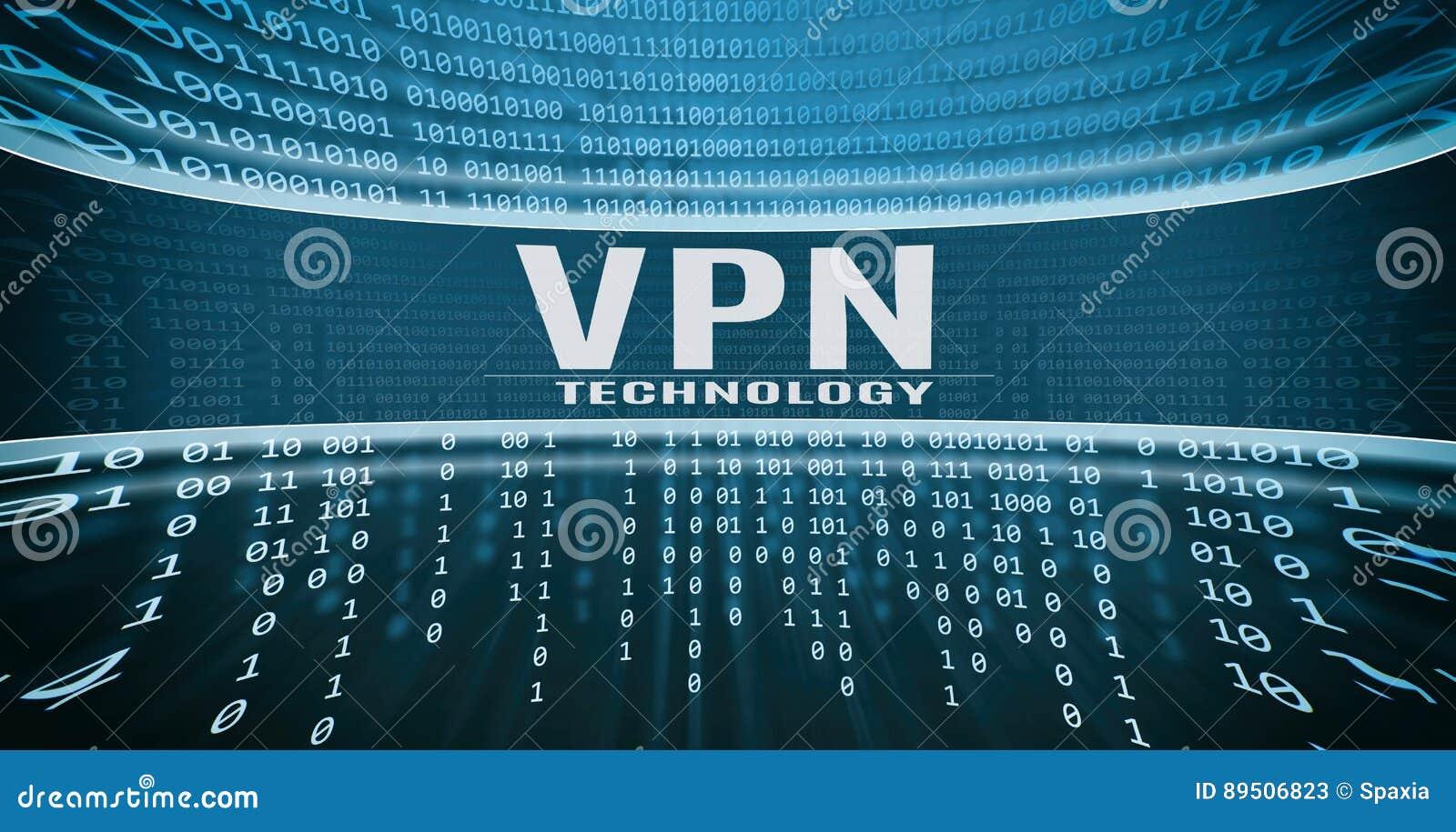 VPN technology concept