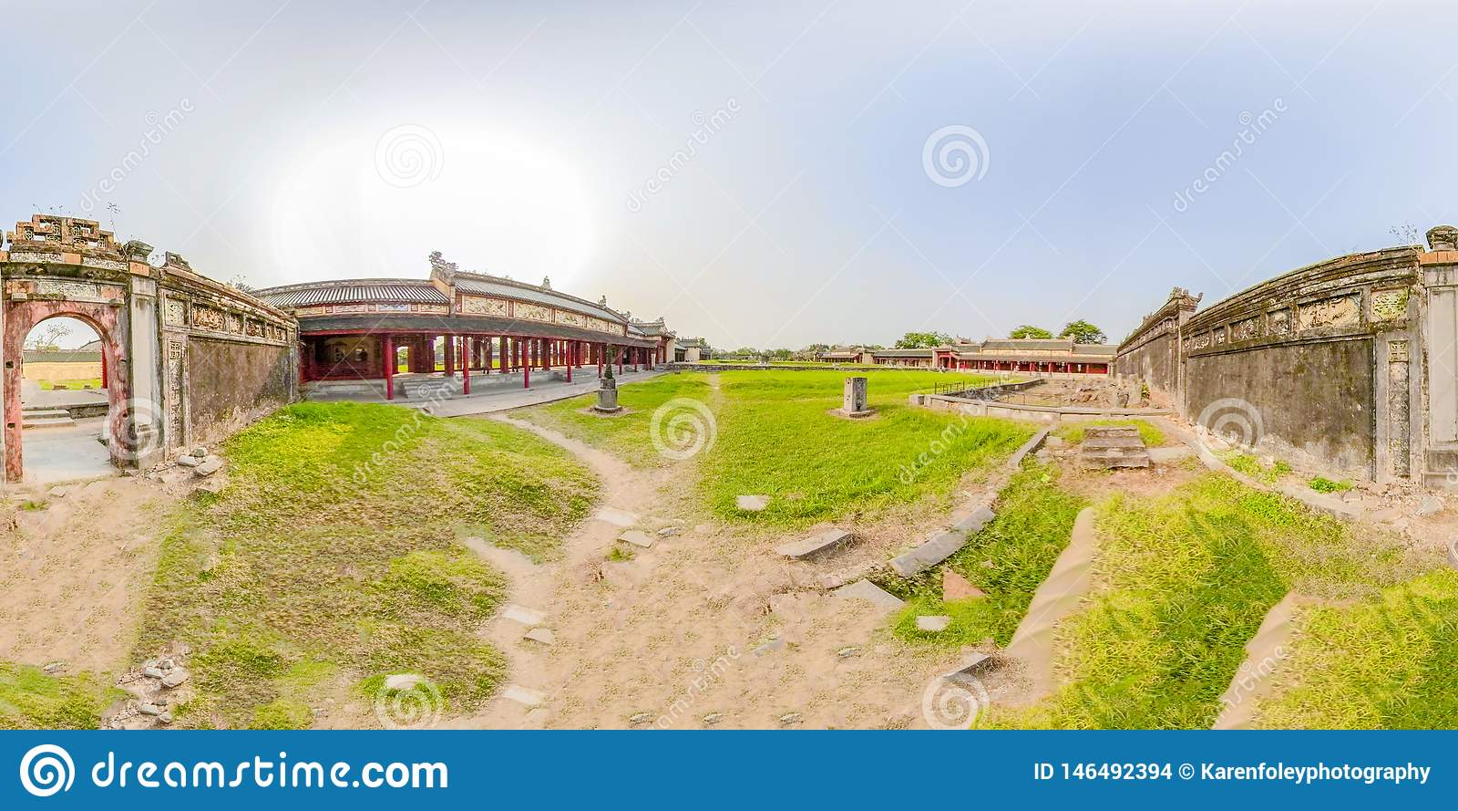 360VR ακρόπολη του χρώματος στο Βιετνάμ