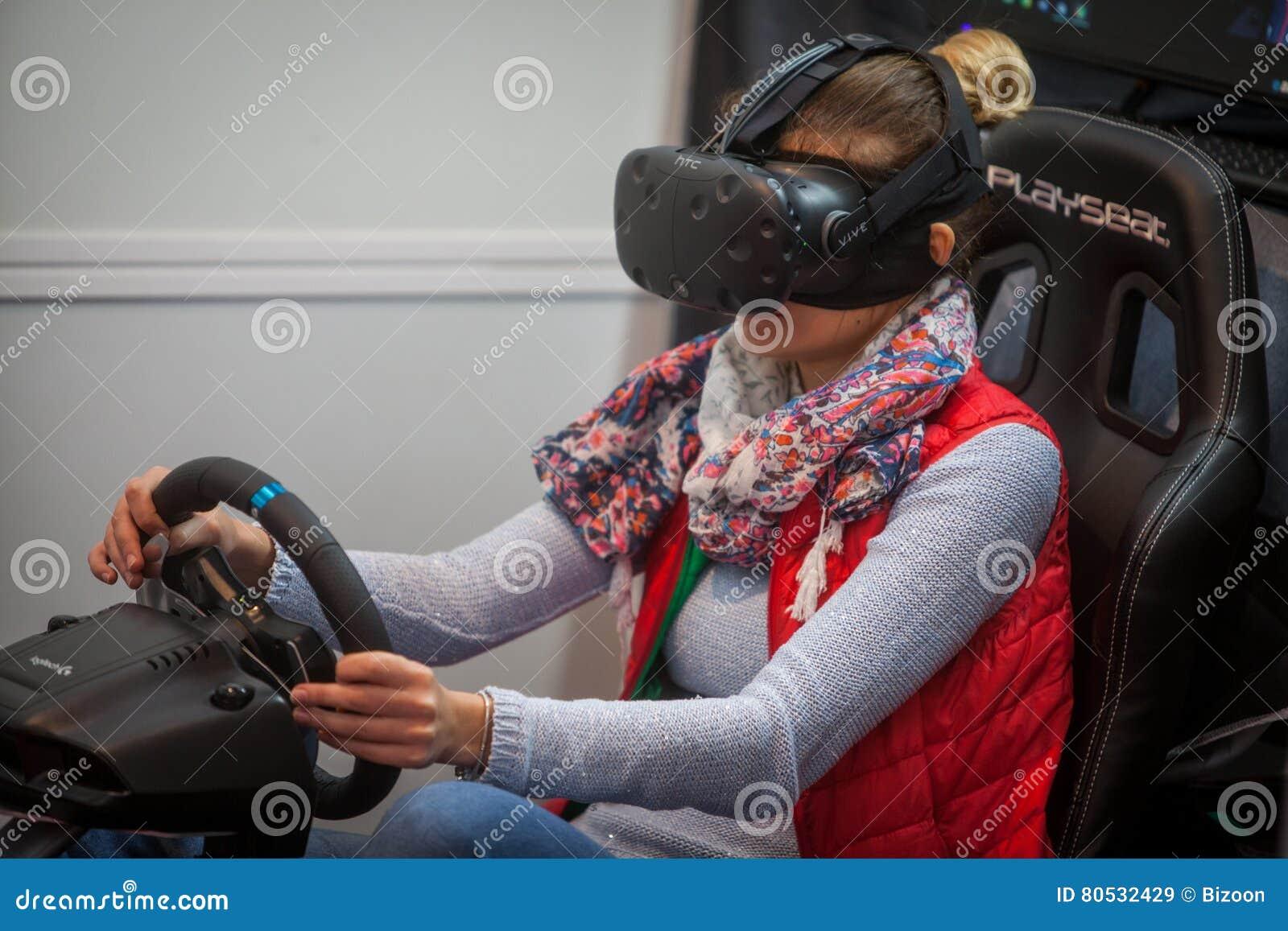 VR som kör leken