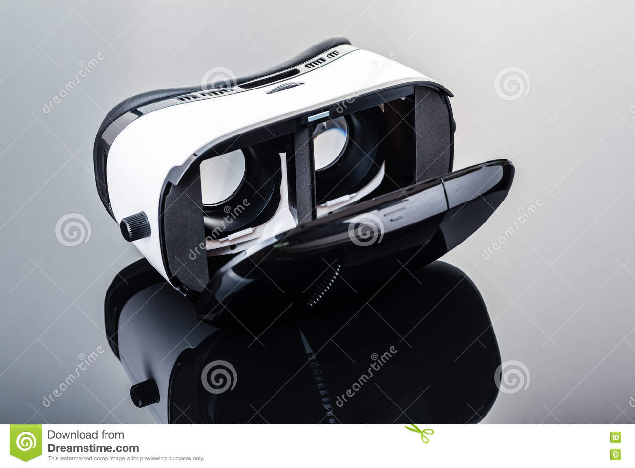 VR Viewer device stock image  Image of display, interactive