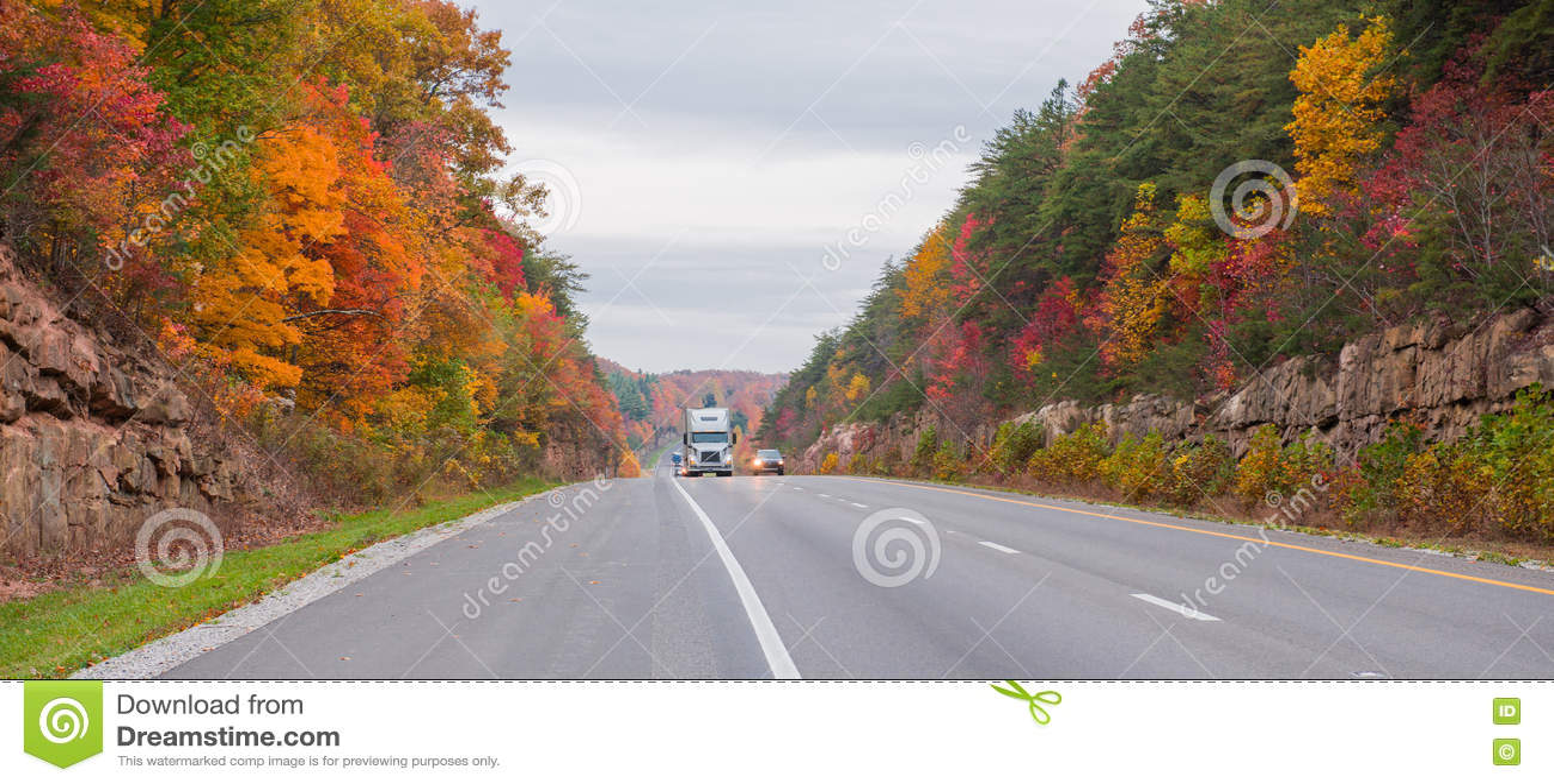 Vrachtvervoer op 65 Tusen staten in Kentucky