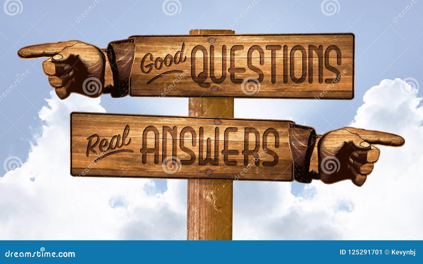 Vragen en Antwoordenteken die Vingers Q&A richten