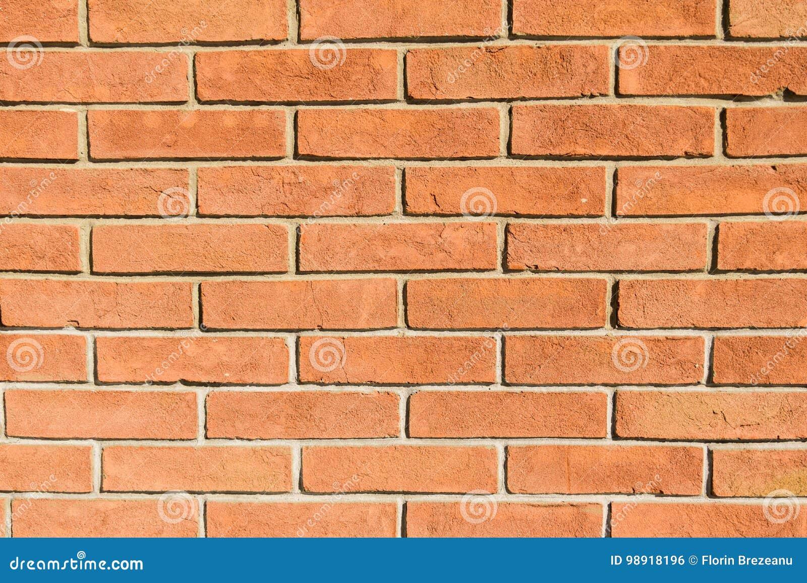 vrai fond de ma onnerie de mur de briques de rouge orange photo stock image du vieux. Black Bedroom Furniture Sets. Home Design Ideas