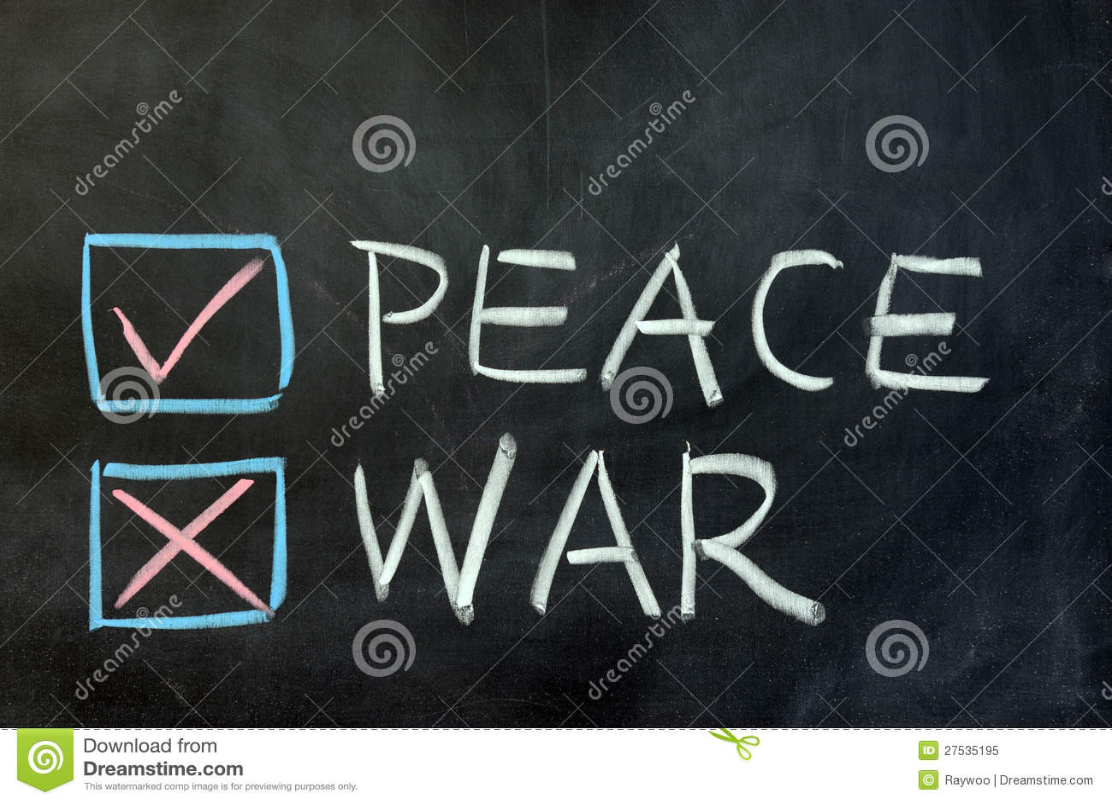 Citaten Oorlog En Vrede : Vrede of oorlog stock afbeelding bestaande uit