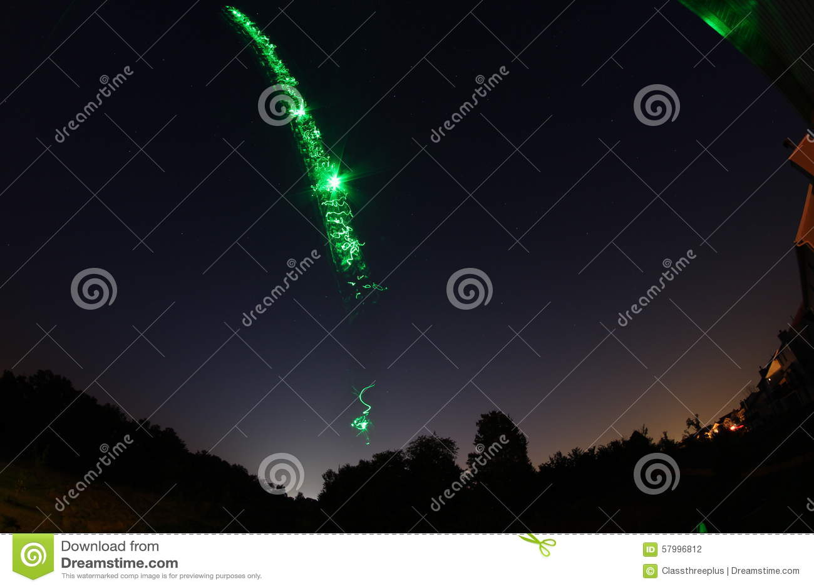 Vreemde Lichten in Sky4