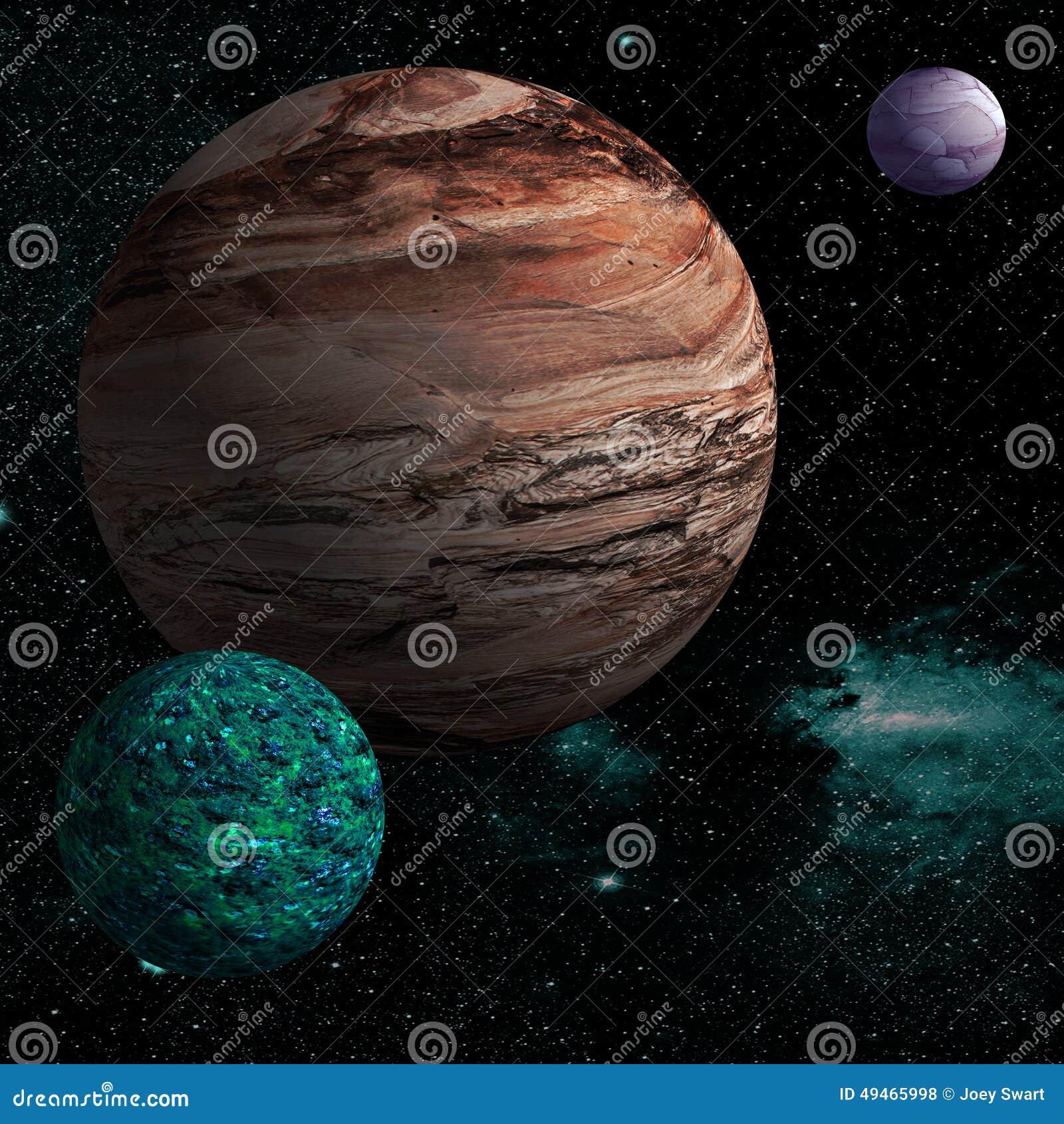 Vreemde planeet