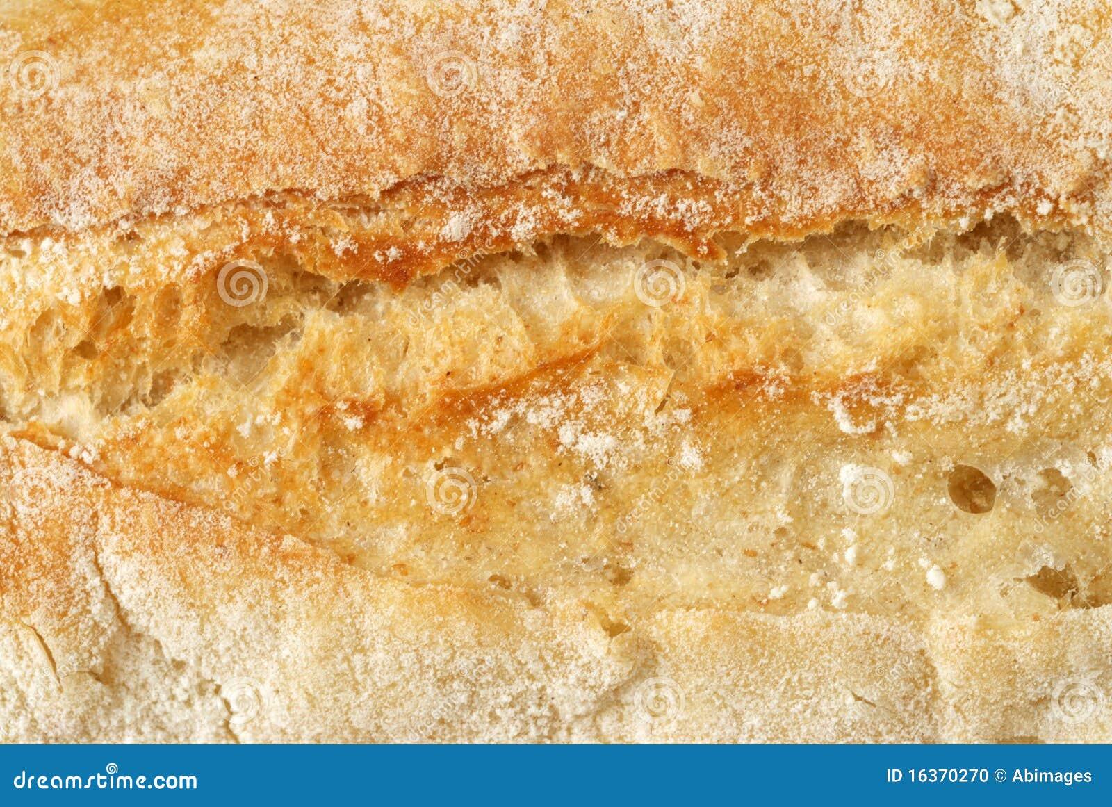 Vresig makro för bröd