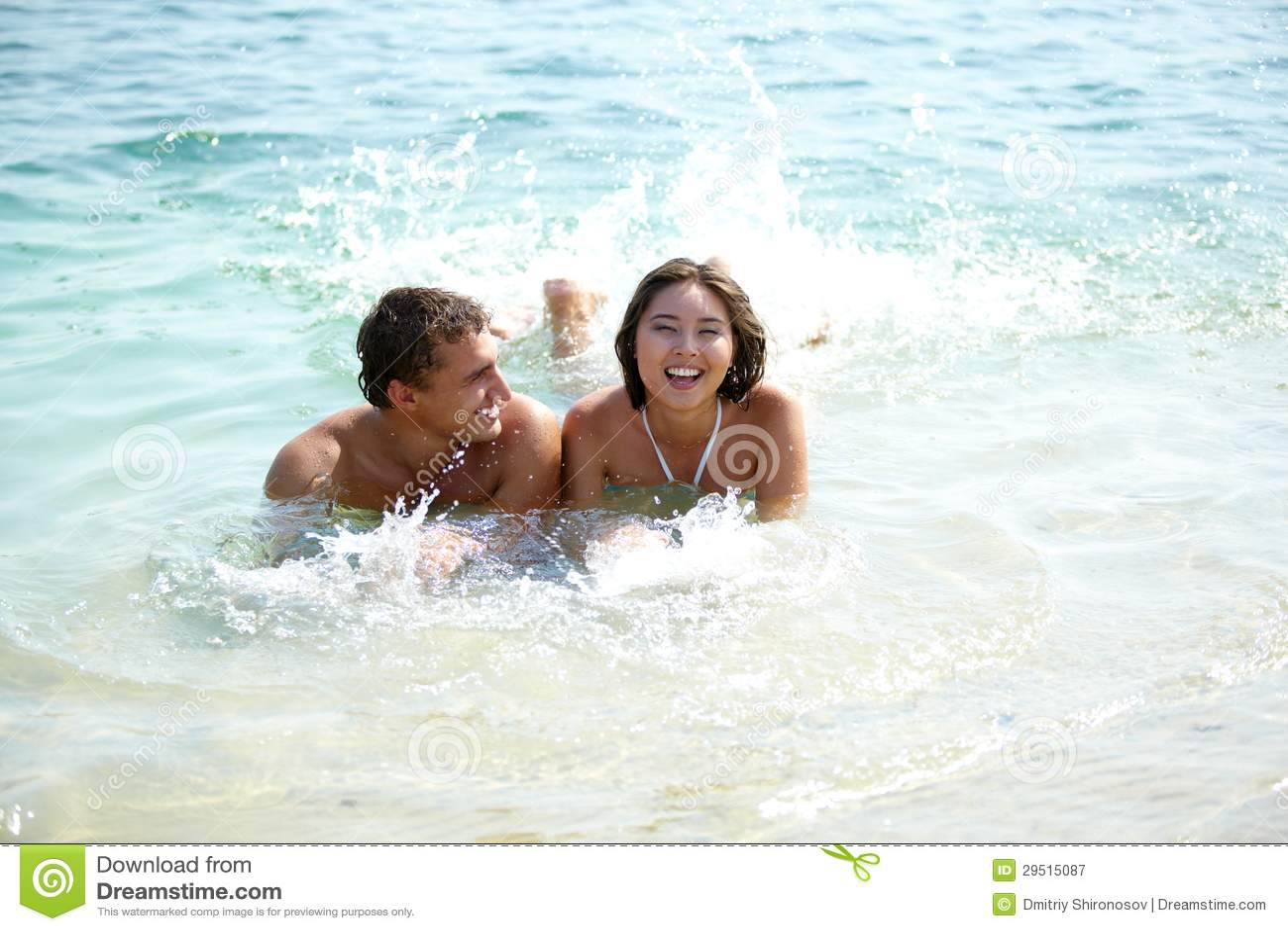 Vreugde in water