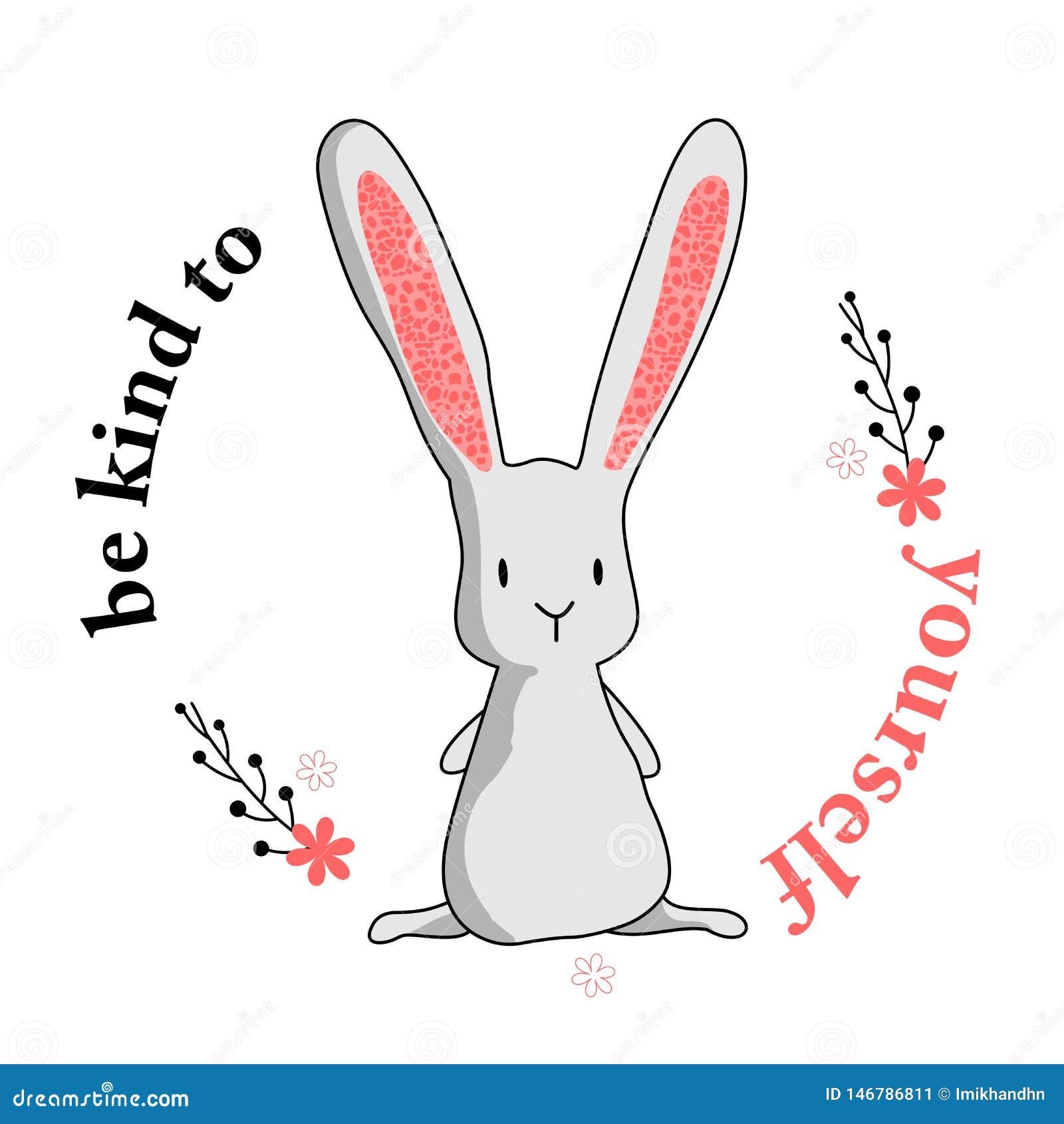 Vriendelijk ben aan zich konijntje