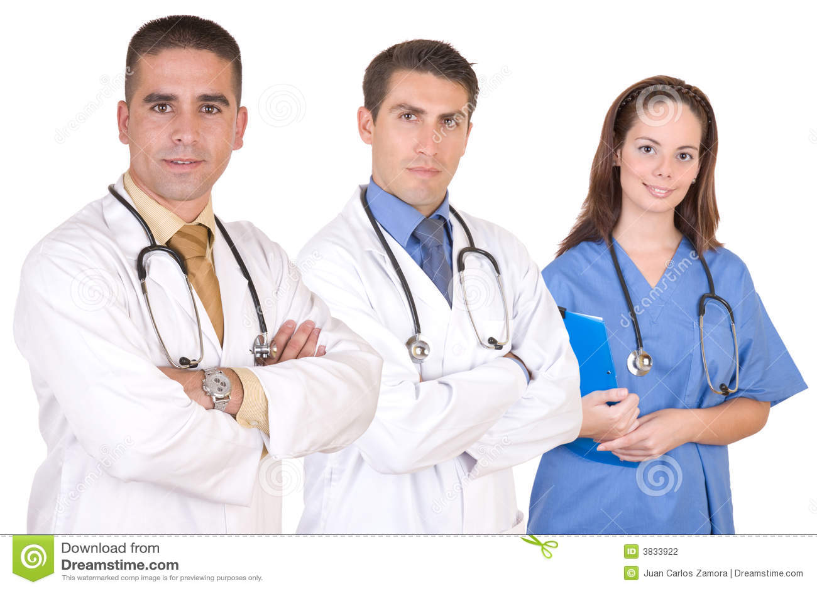 Vriendschappelijk medisch team - de arbeiders van de Gezondheidszorg