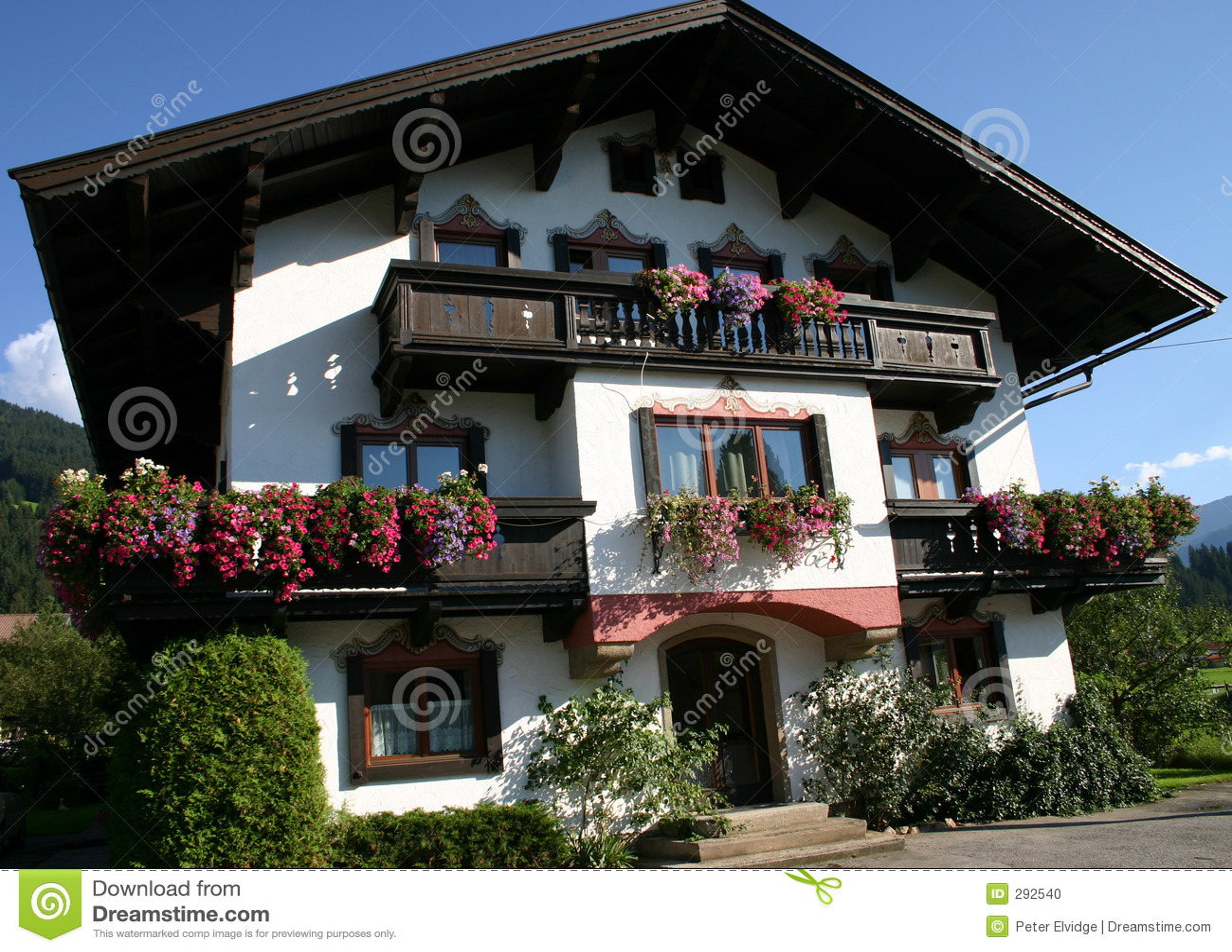 Vrij Oostenrijks huis