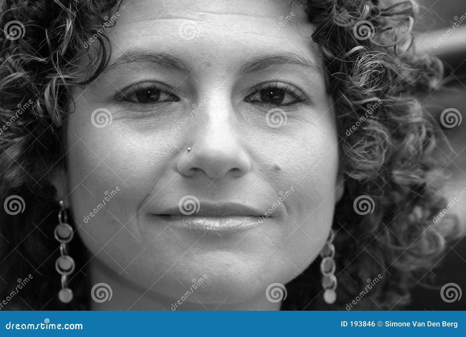 Vrij Tunesische vrouw