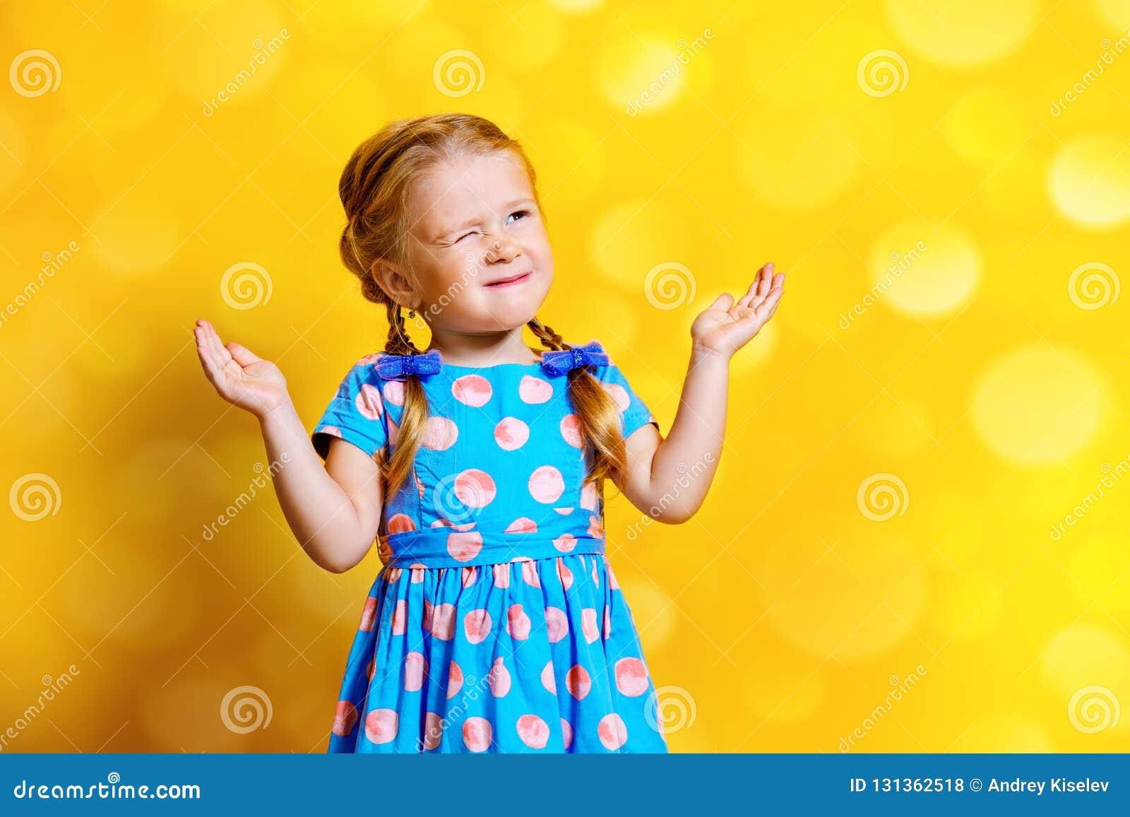 Vrij vrolijk meisje