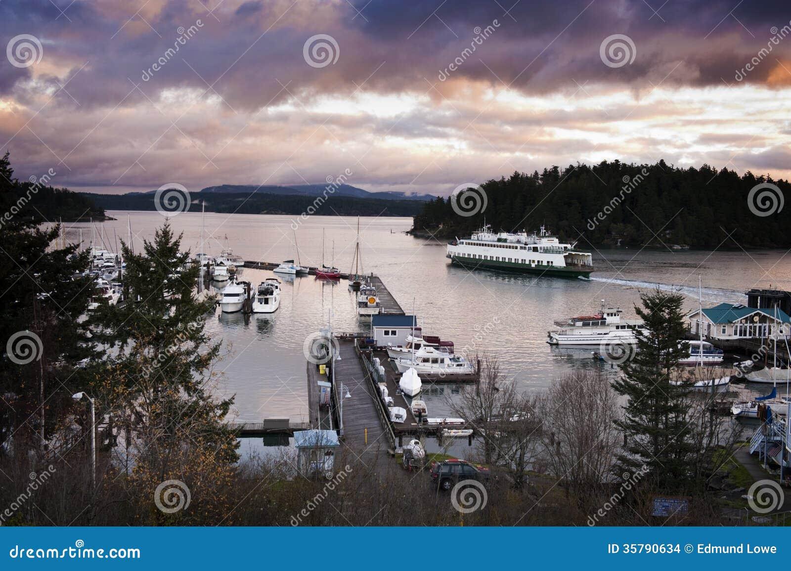 Vrijdaghaven, San Juan Island, Washington.
