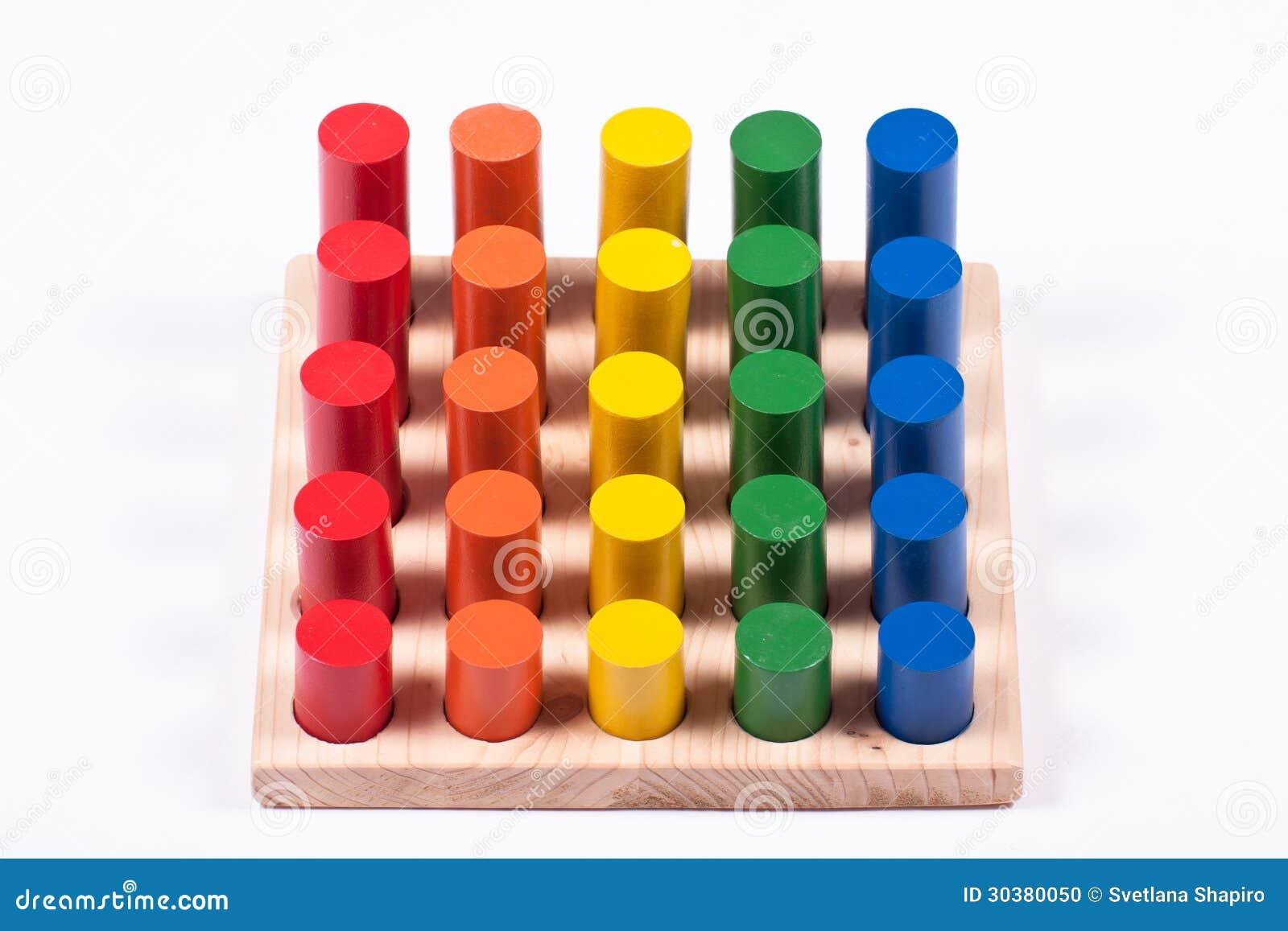 Kleuren leren speelgoed