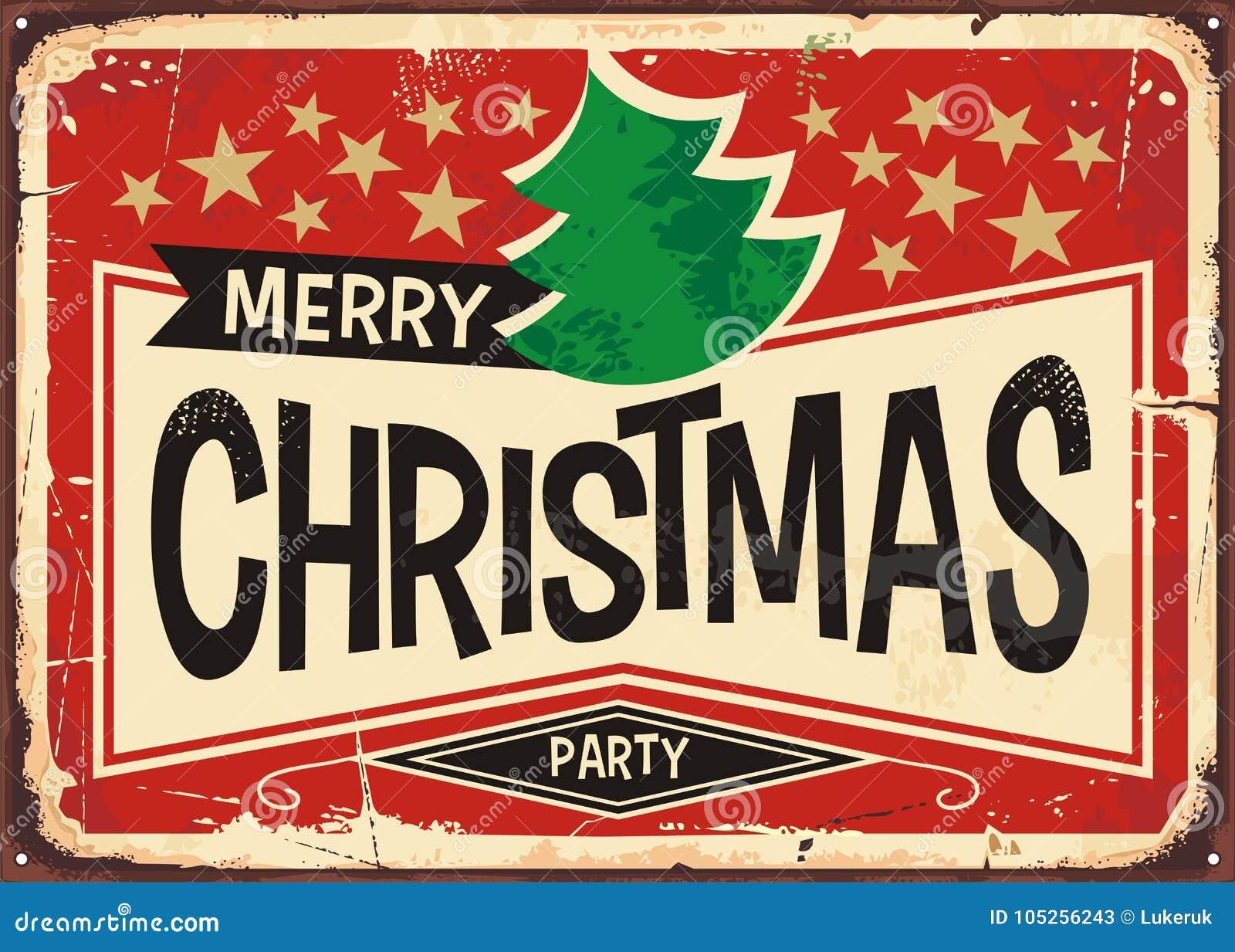 Vrolijk Kerstmis uitstekend teken