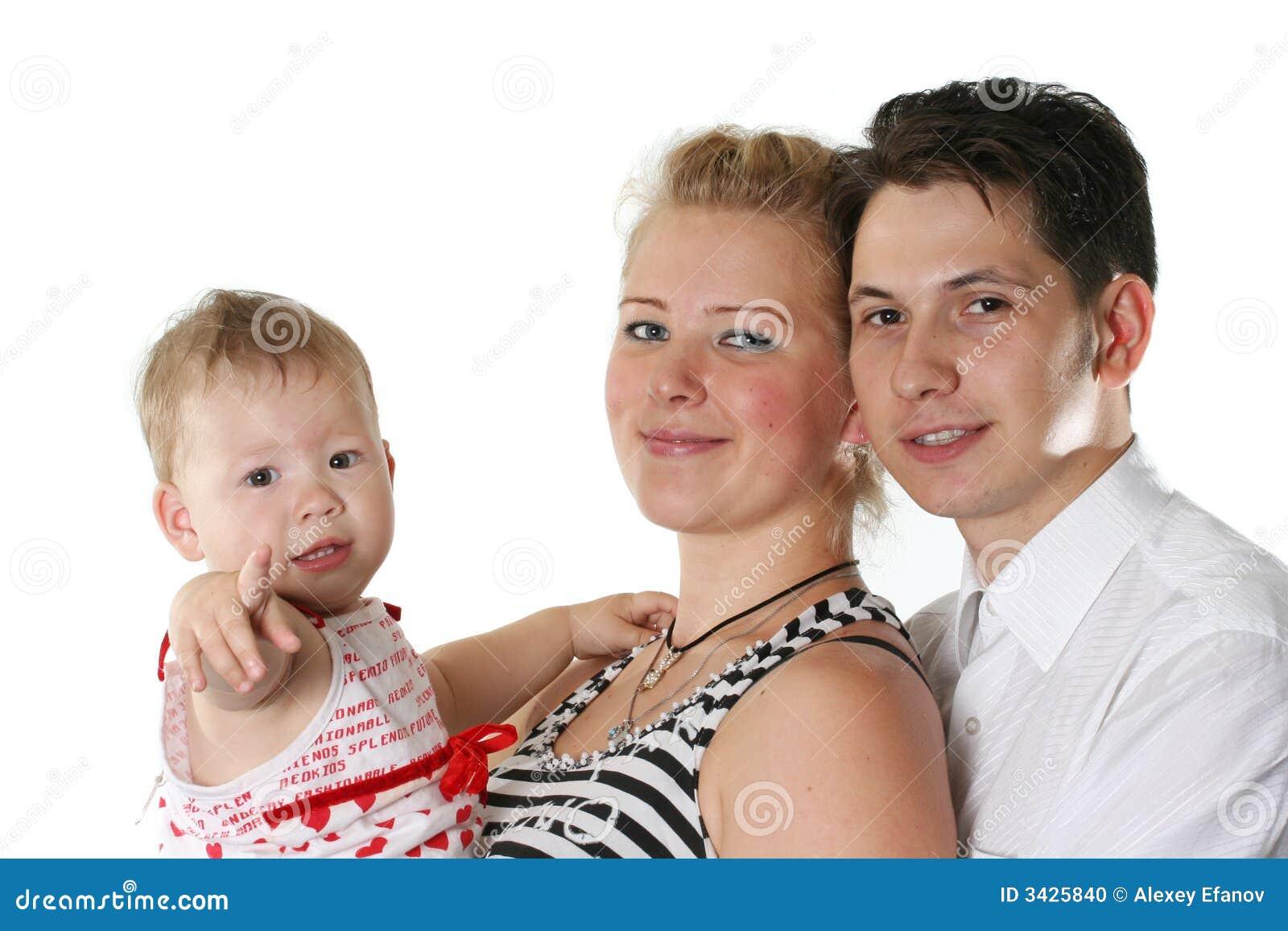 Vrolijke familie