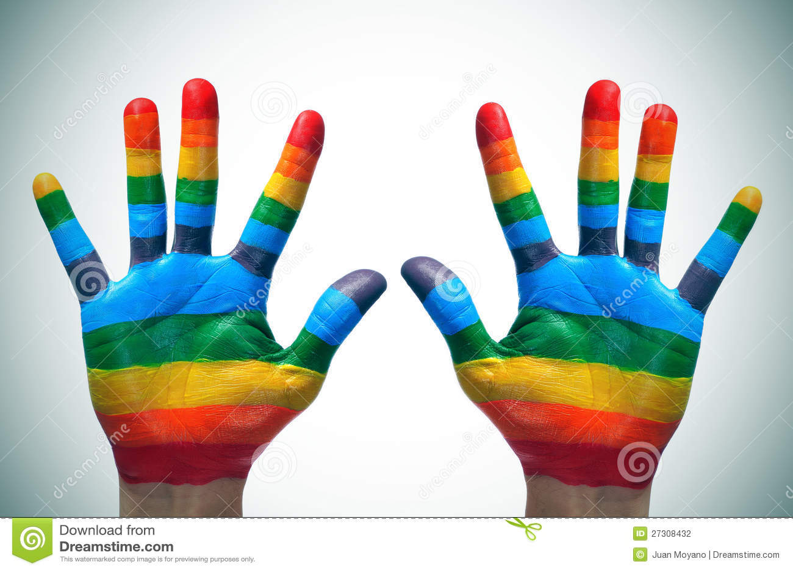 Vrolijke handen