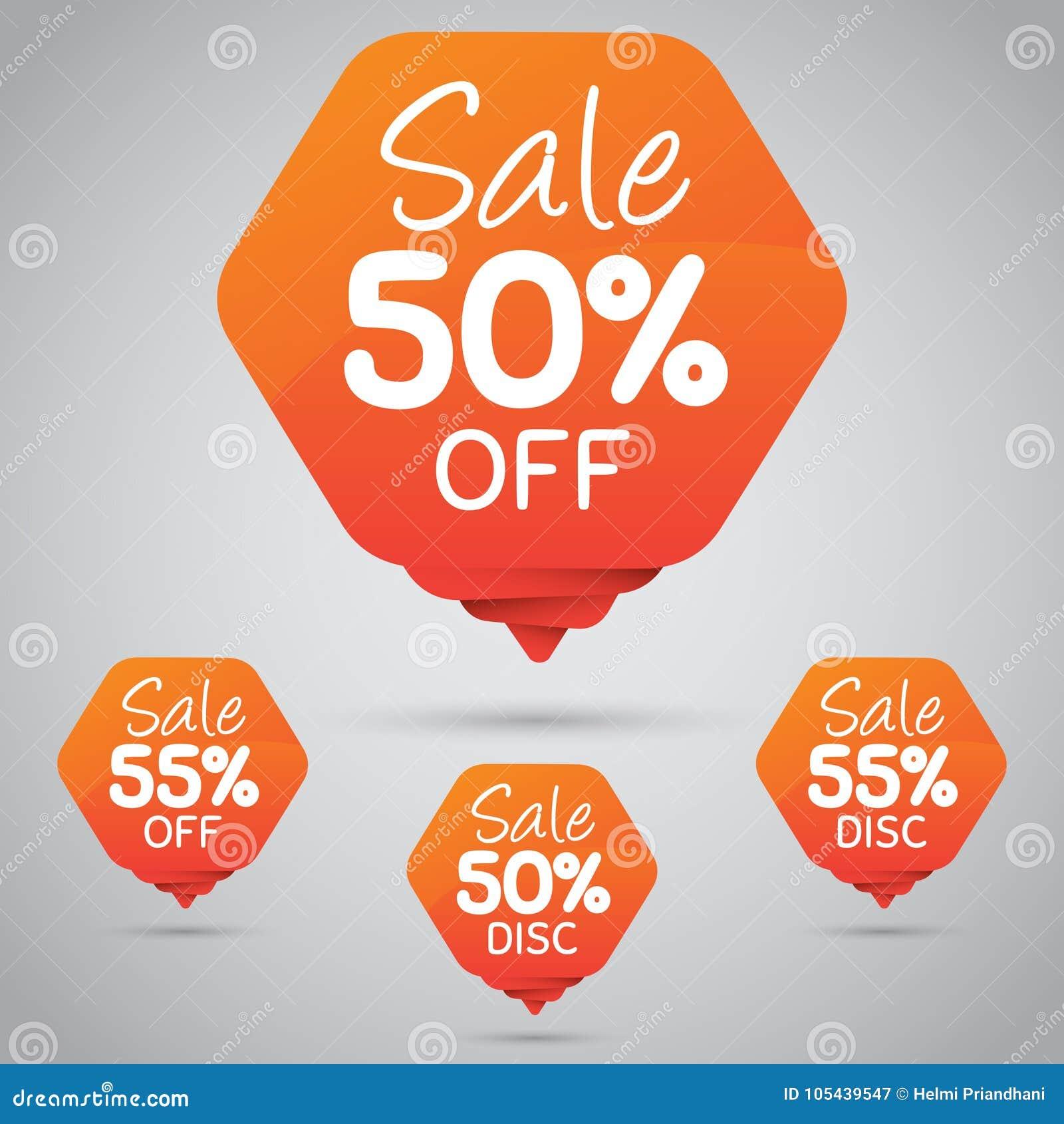 Vrolijke Oranje Markering voor Marketing Kleinhandelselementenontwerp 50  85  Verkoop, Schijf, weg