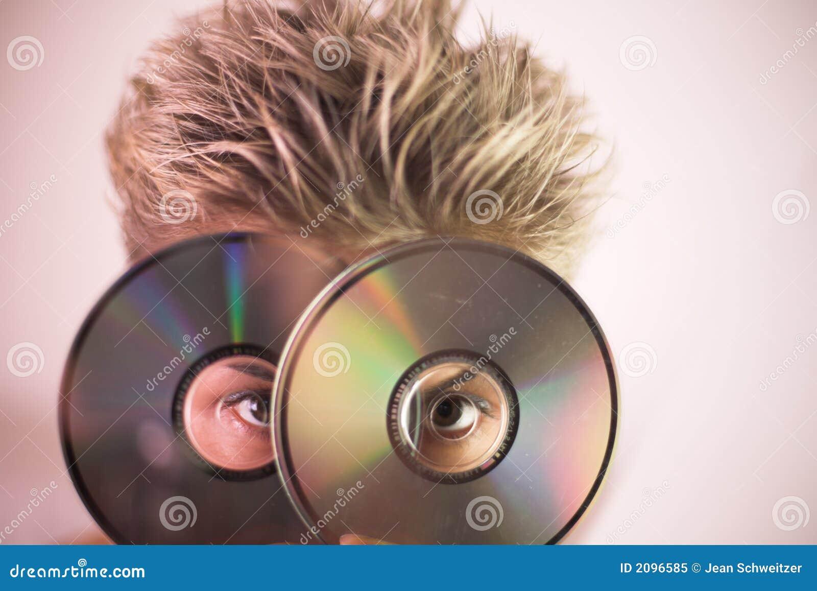Vrouw en CD