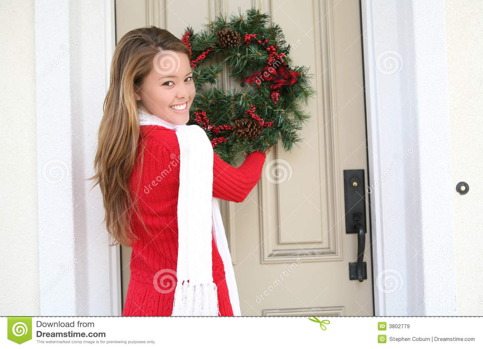 Vrouw en de Kroon van Kerstmis