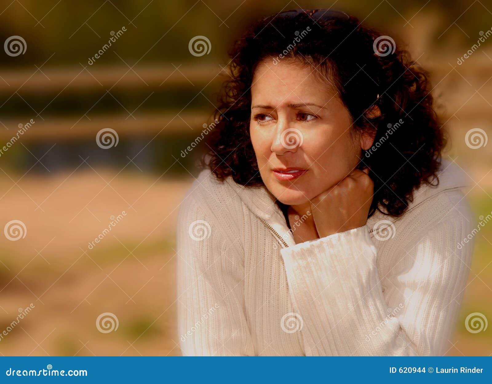 Vrouw met Zorg