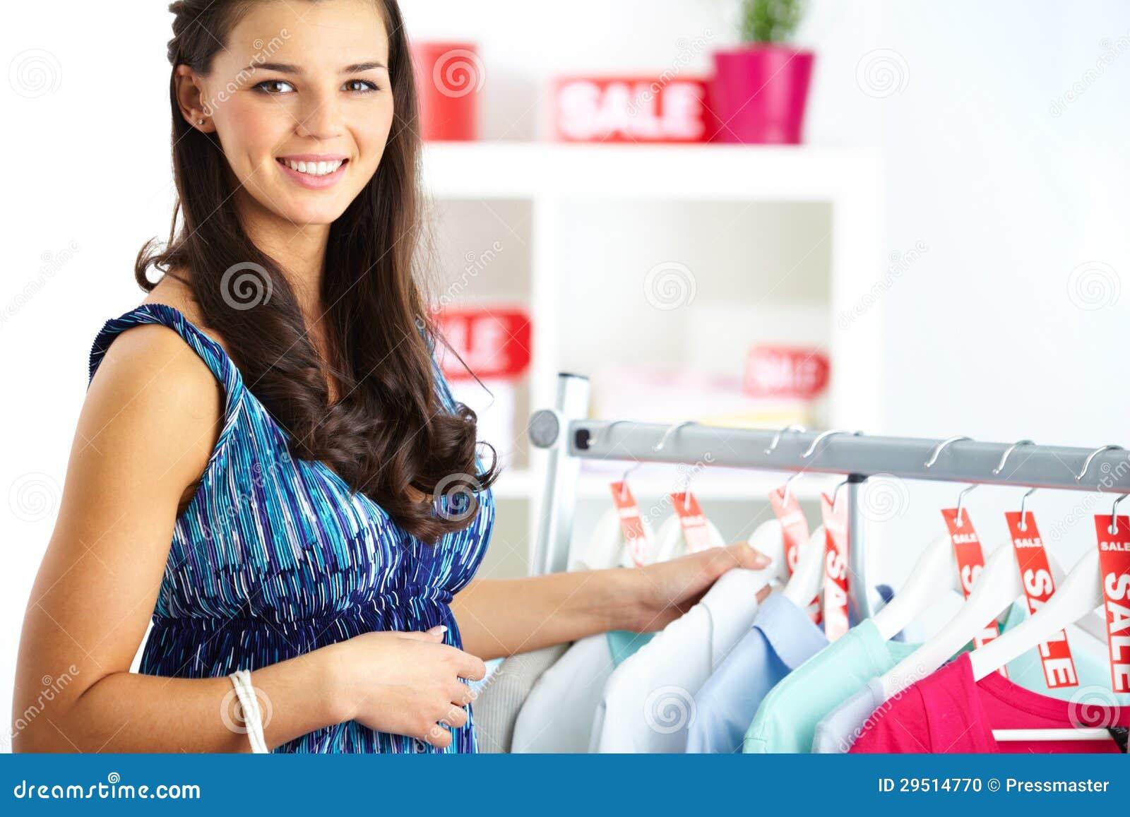 Vrouw op verkoop
