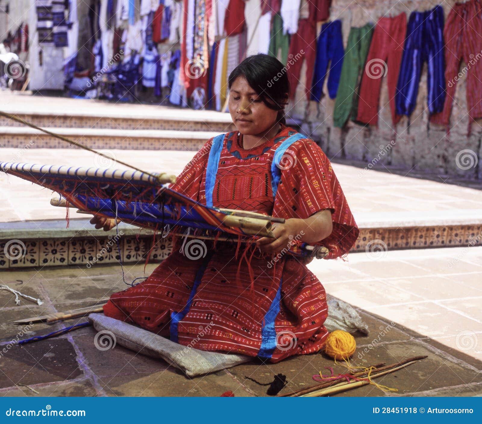 Vrouw van Oaxaca