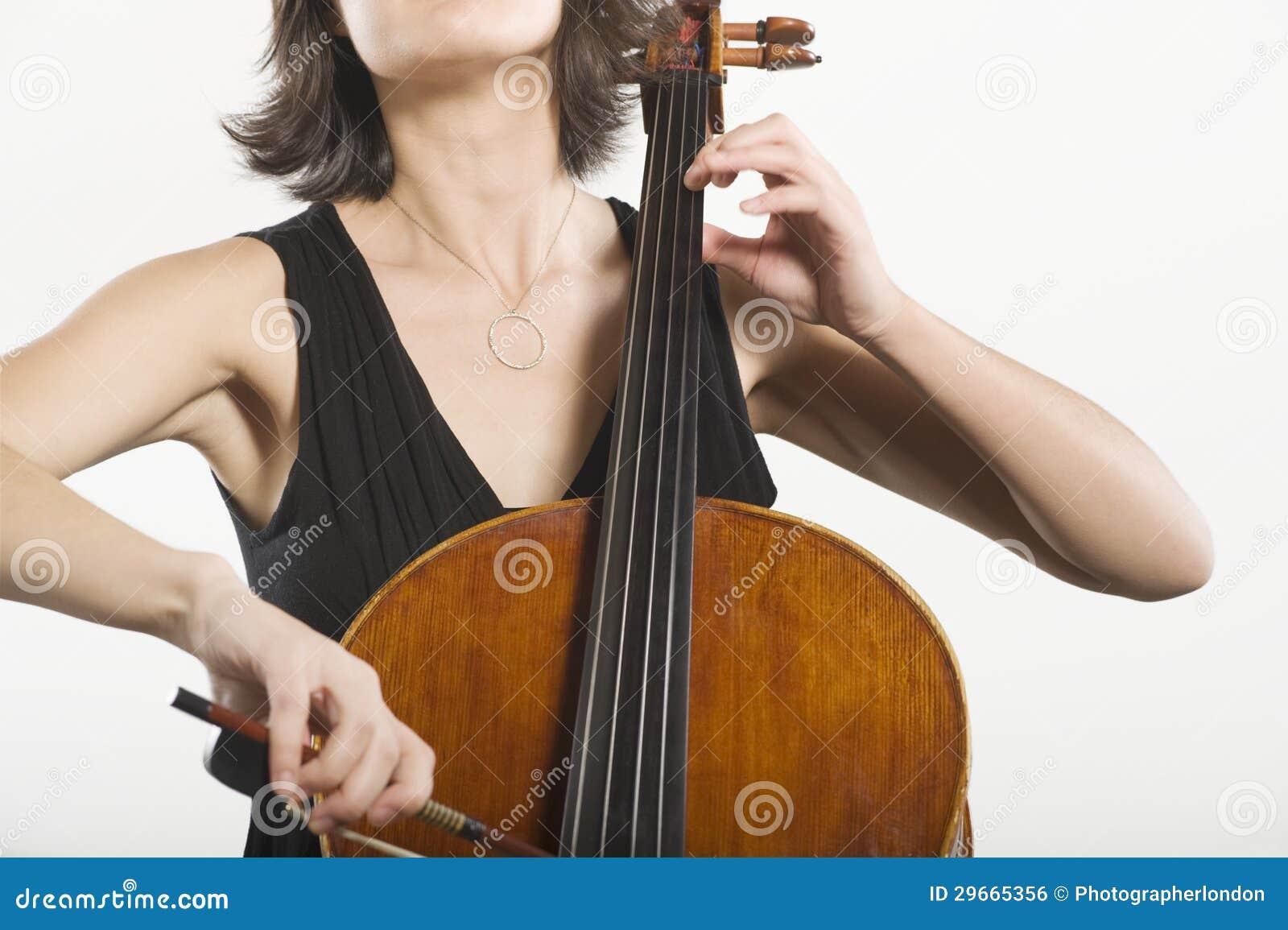 Vrouwelijke Cellist