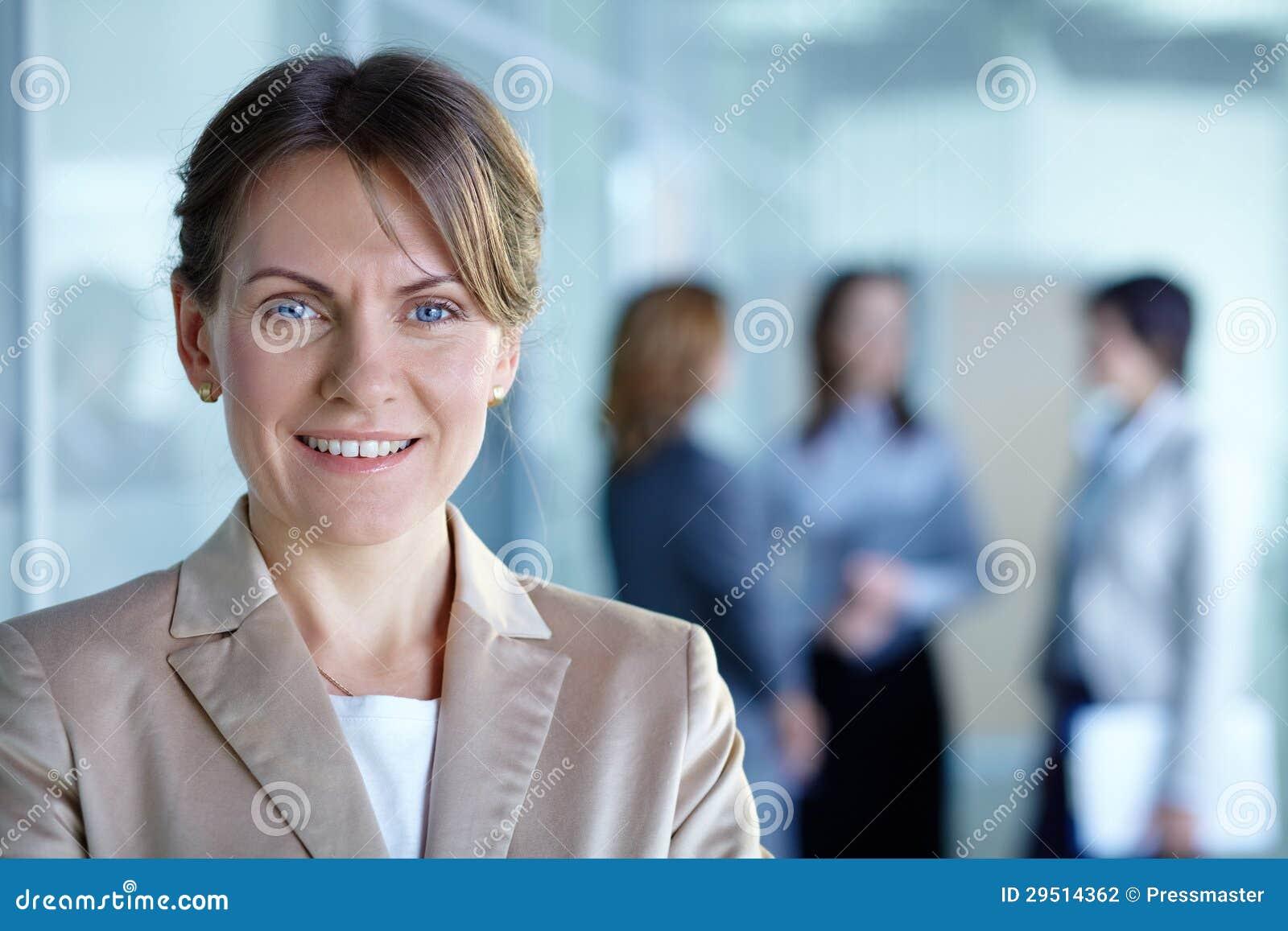 Vrouwelijke leider