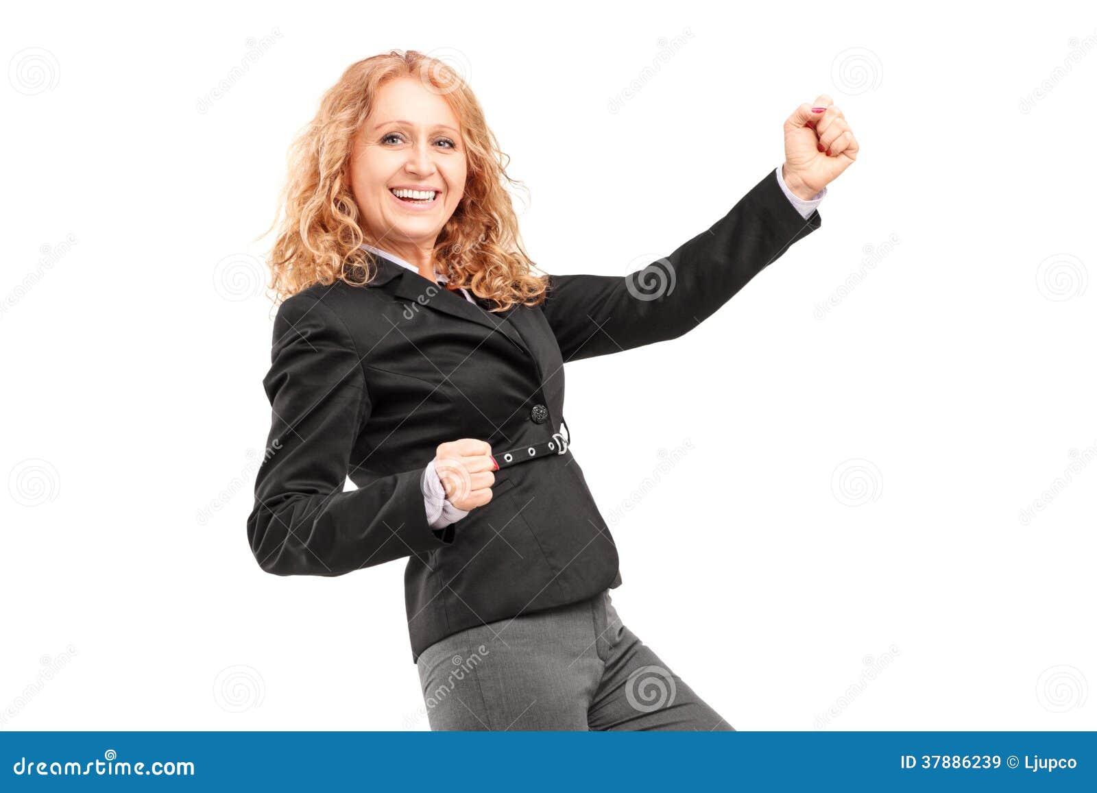 Vrouwen gesturing geluk