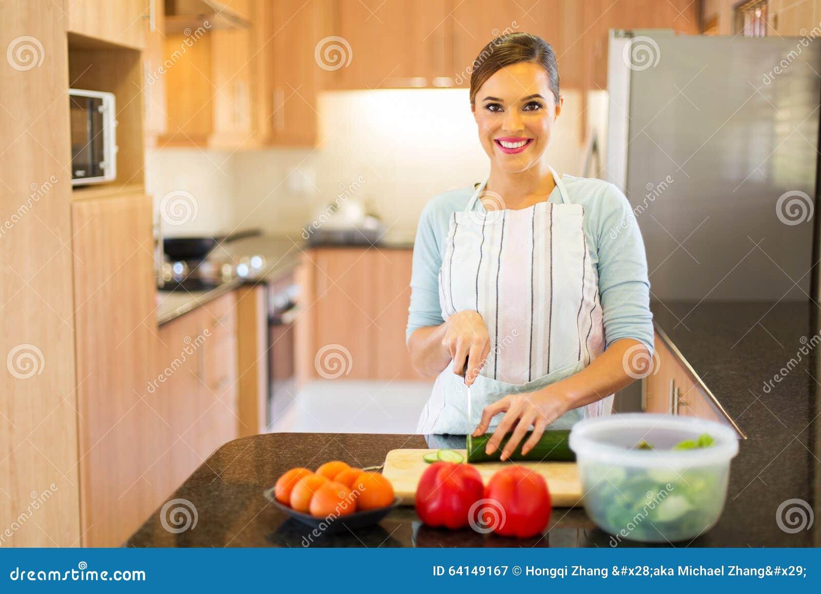 Vrouwen kokend huis