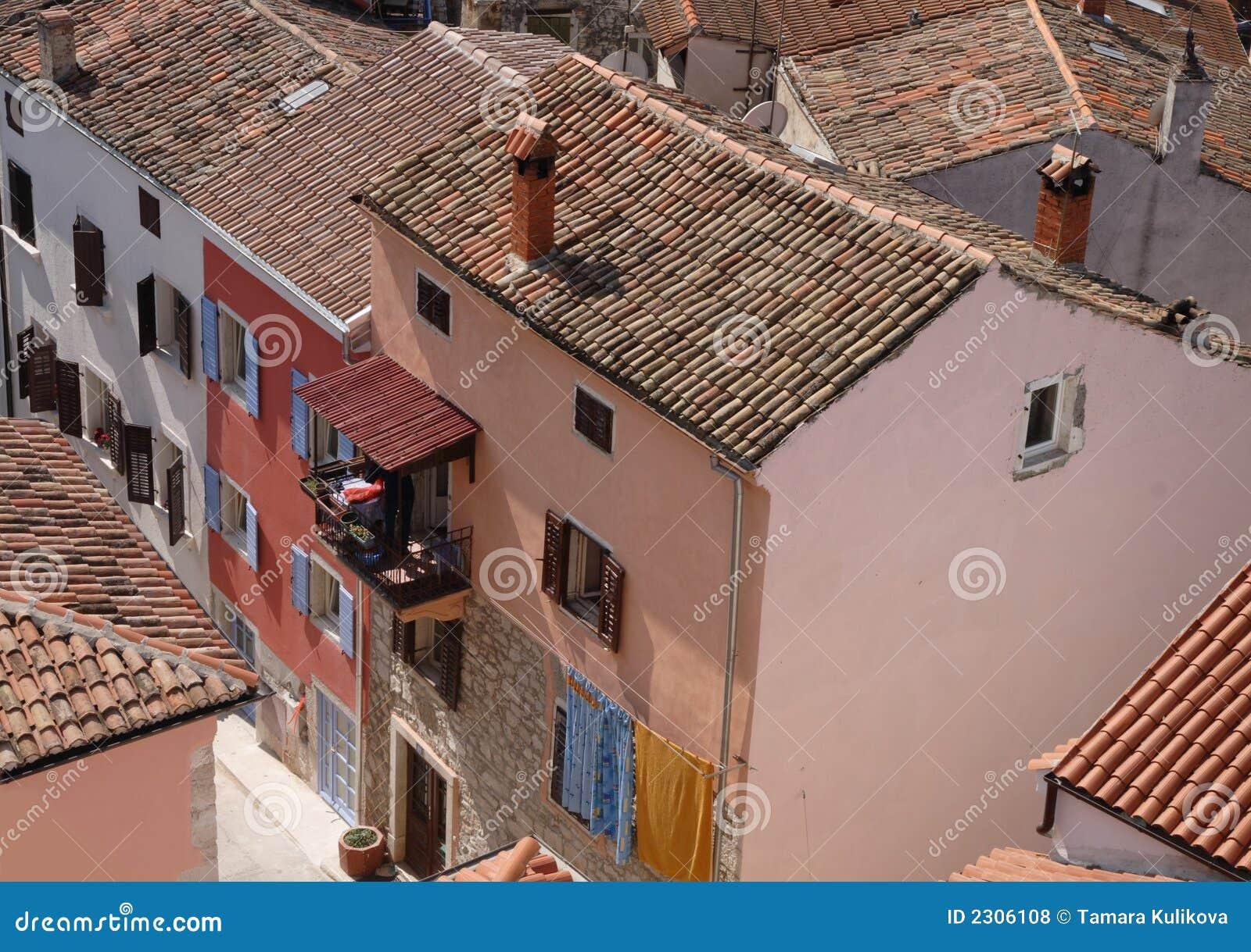 Vrsar, Croatia - rooftops