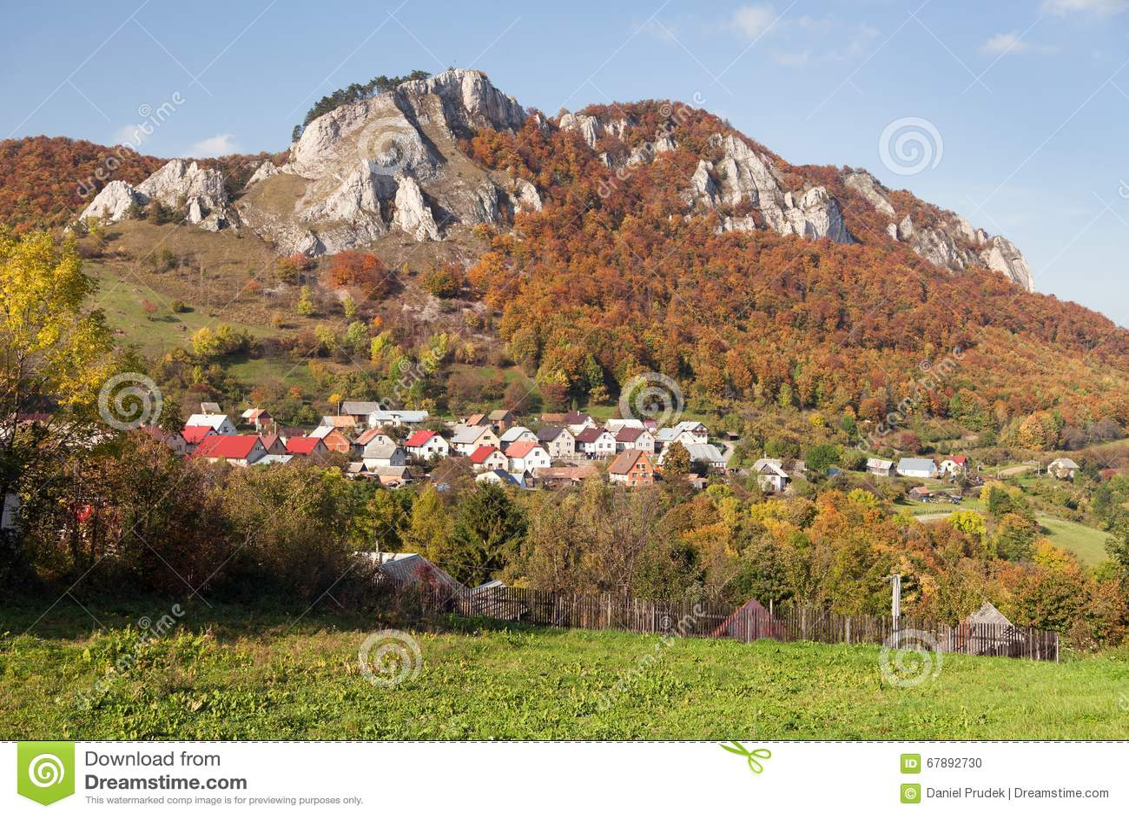 Vrsatec和Vrsatecke Podhradie村庄-斯洛伐克