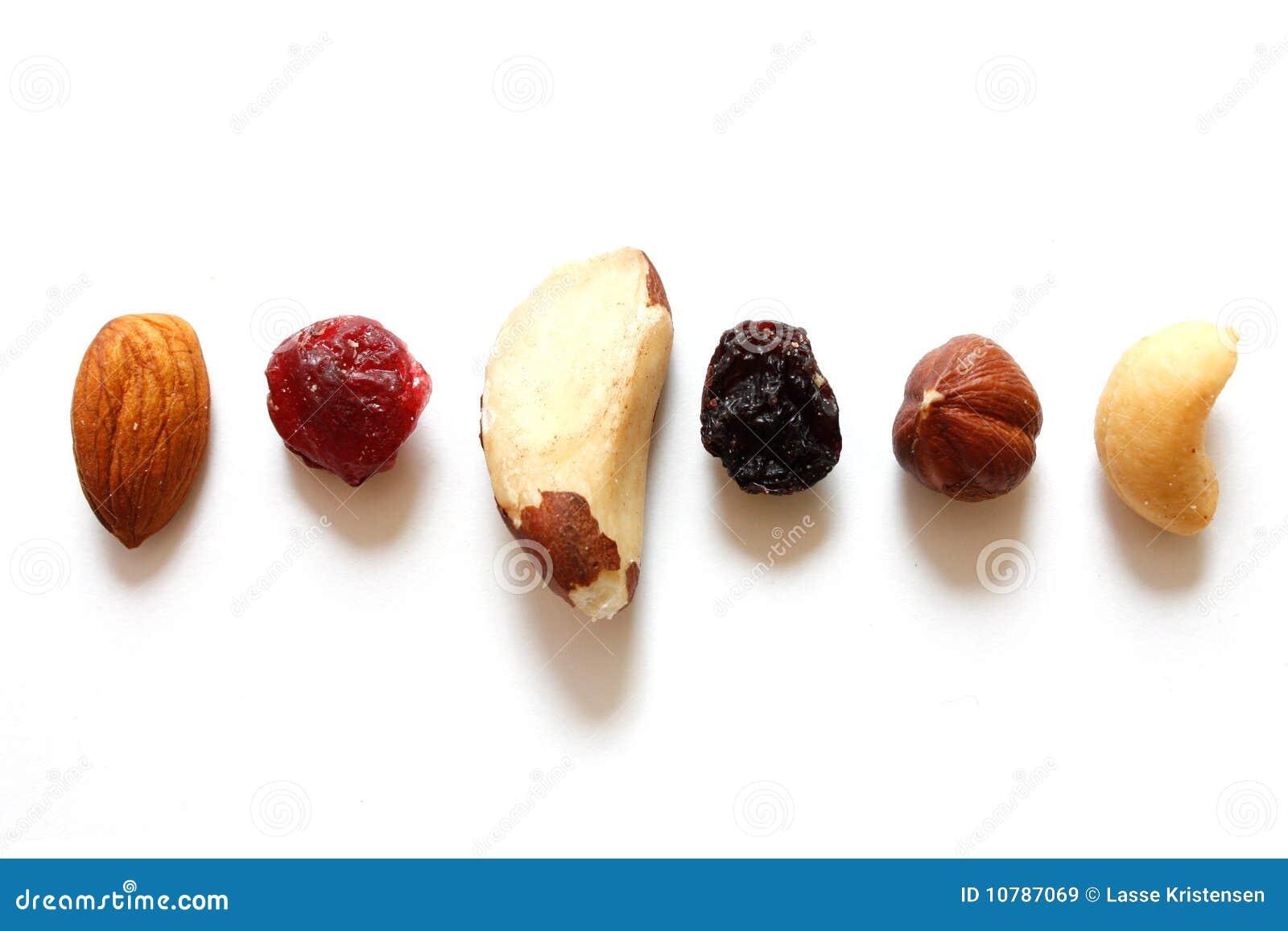 Vruchten en noten
