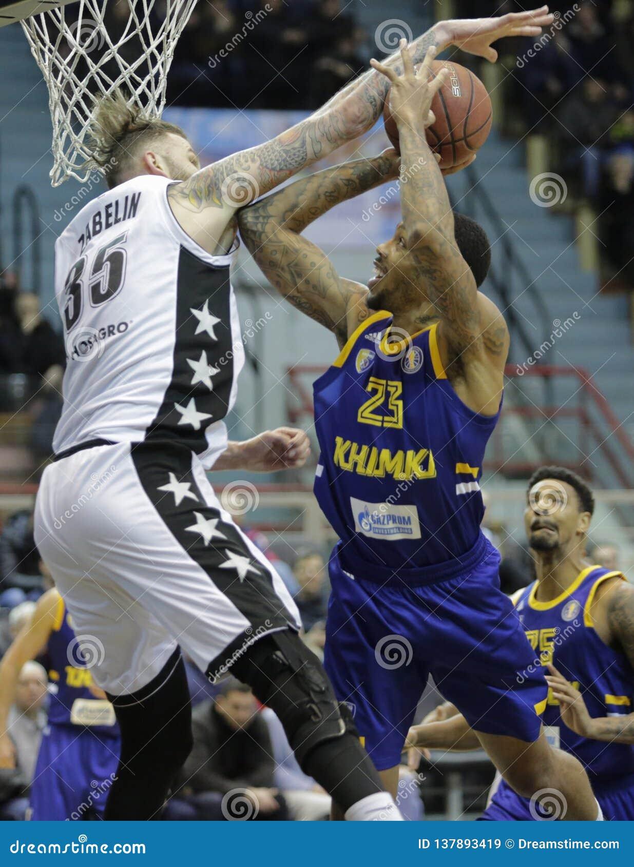 VTB League 2018-2019. Basketball. Russia.