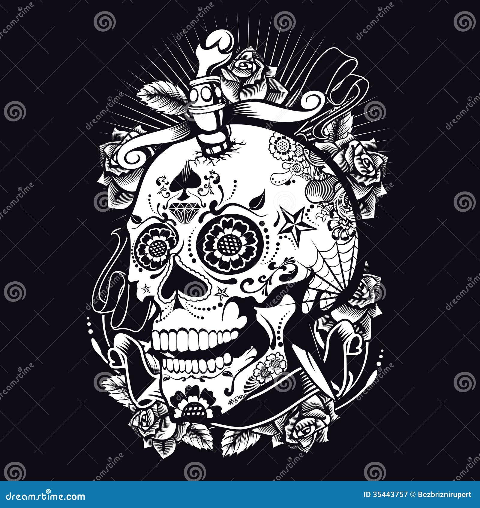 Vudú Sugar Skull