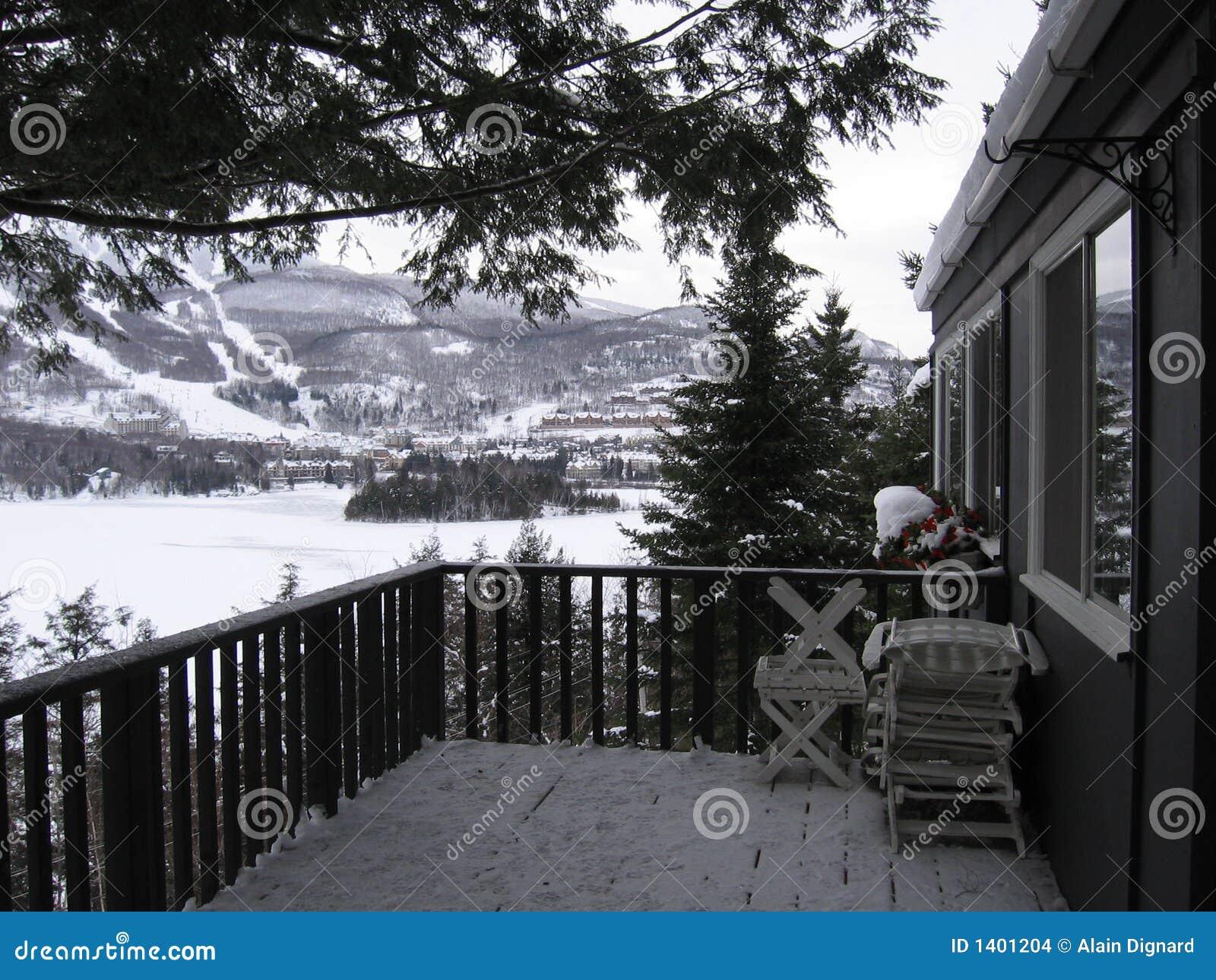 Vue à Mont-Tremblant