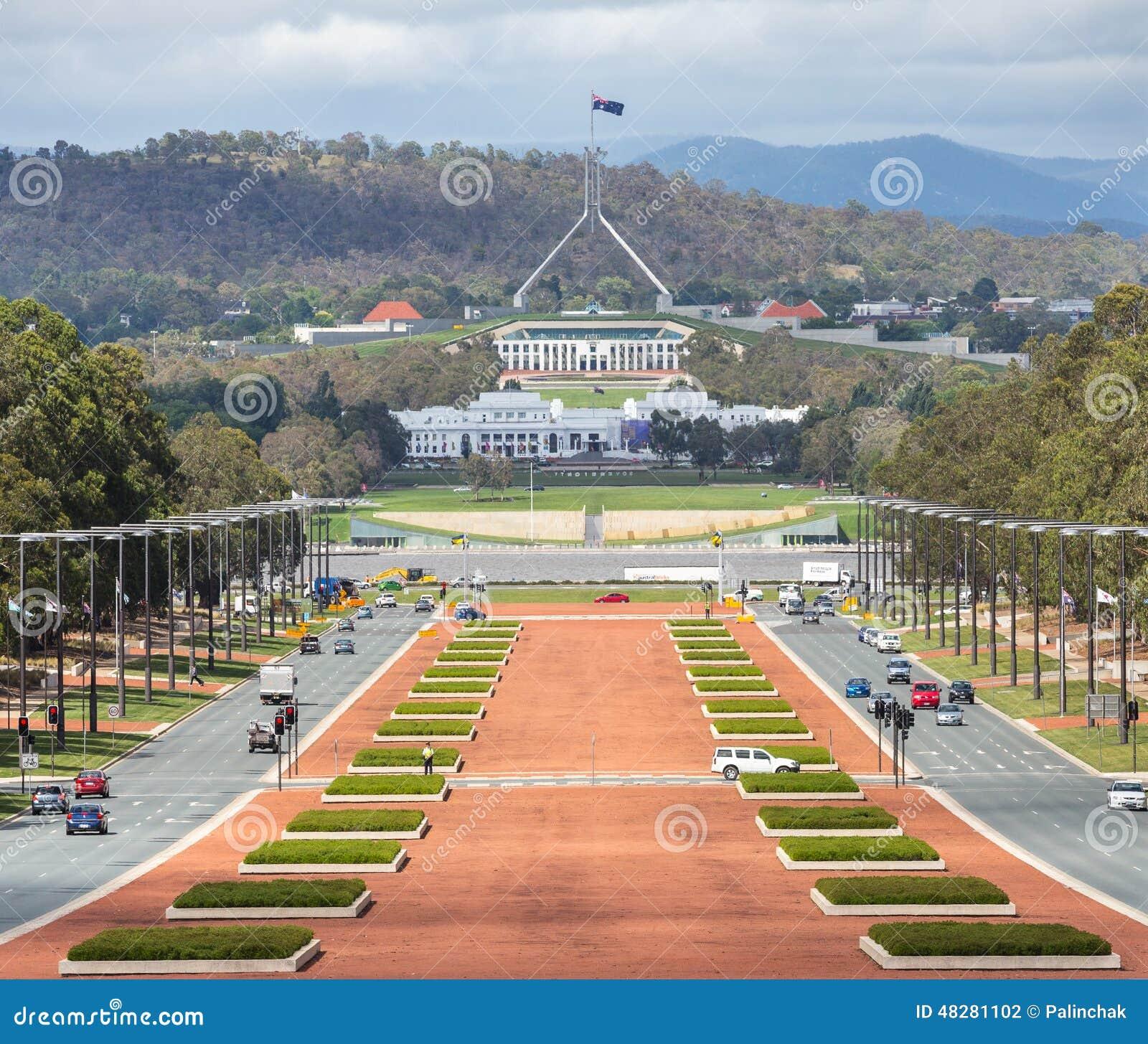 canberra capitale d australie