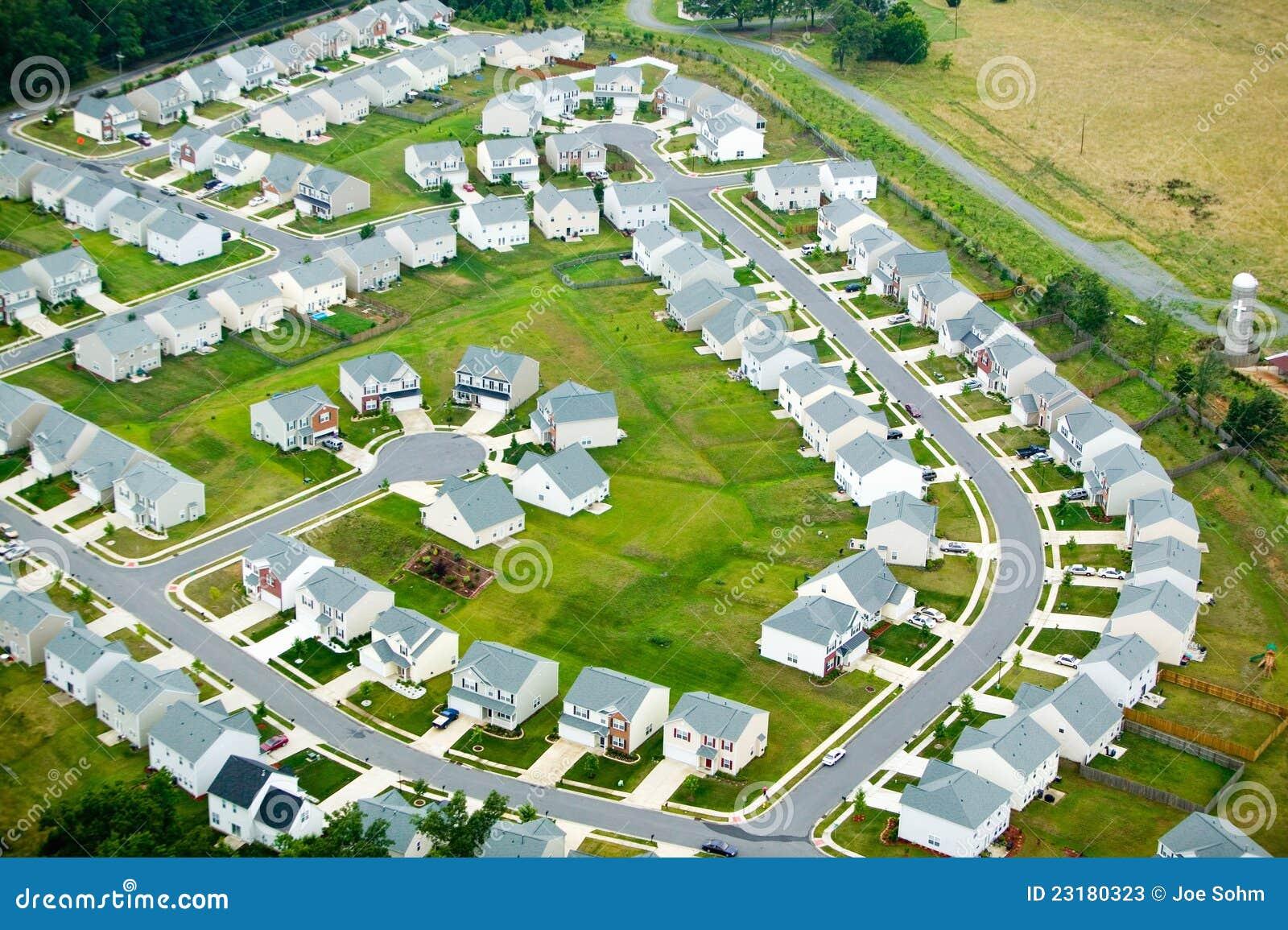 Vue d ensemble immobilier privé