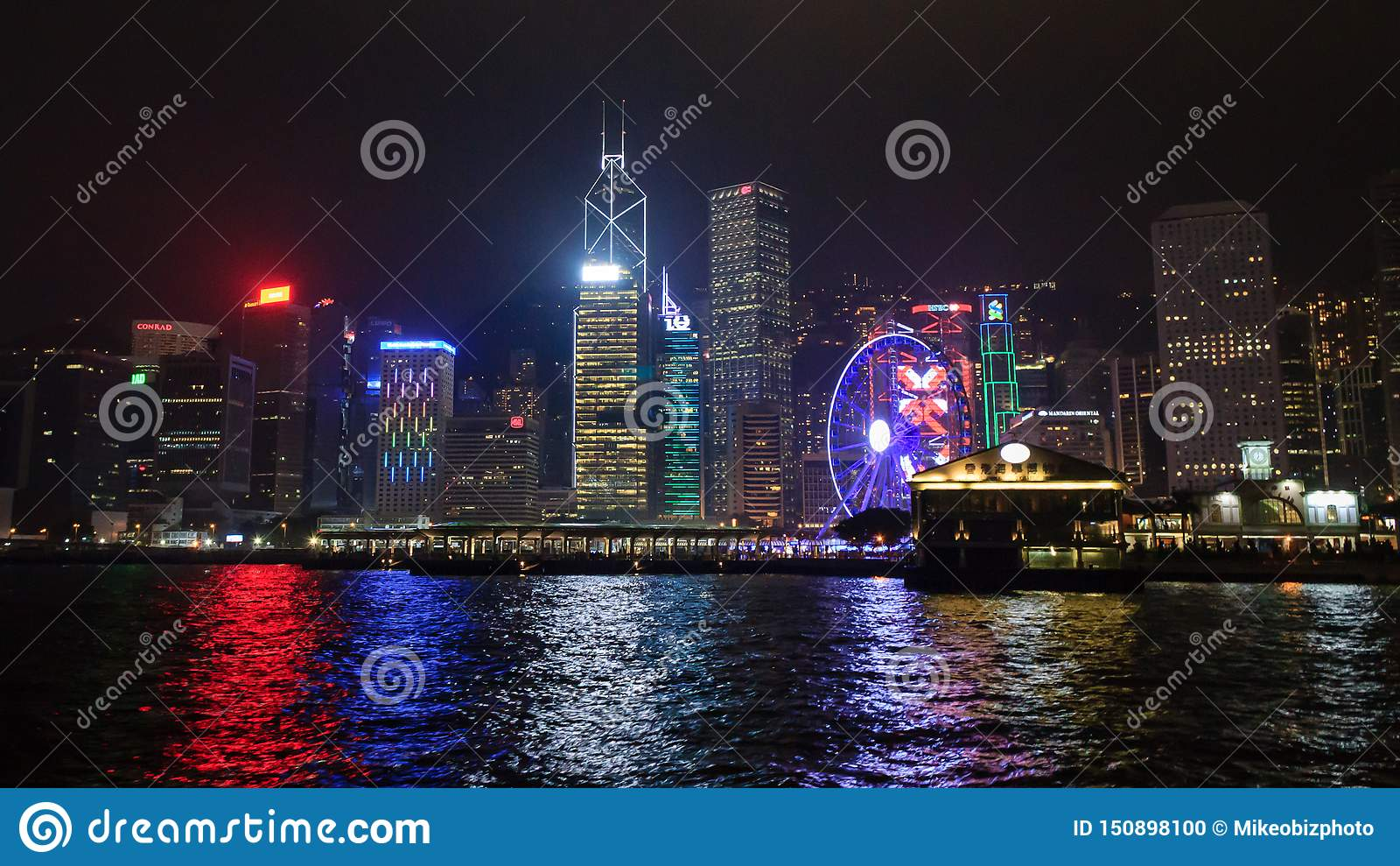 Vue d horizon de ferry d étoile