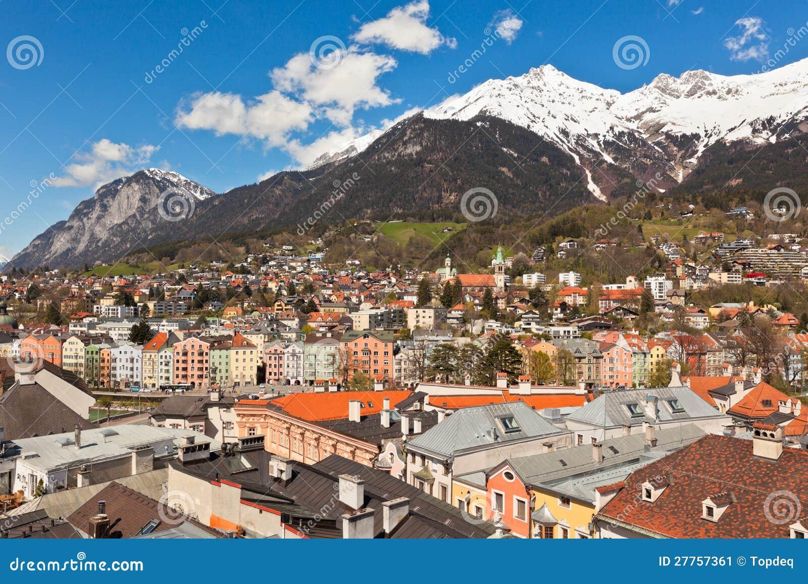 Vue d Innsbruck, Autriche