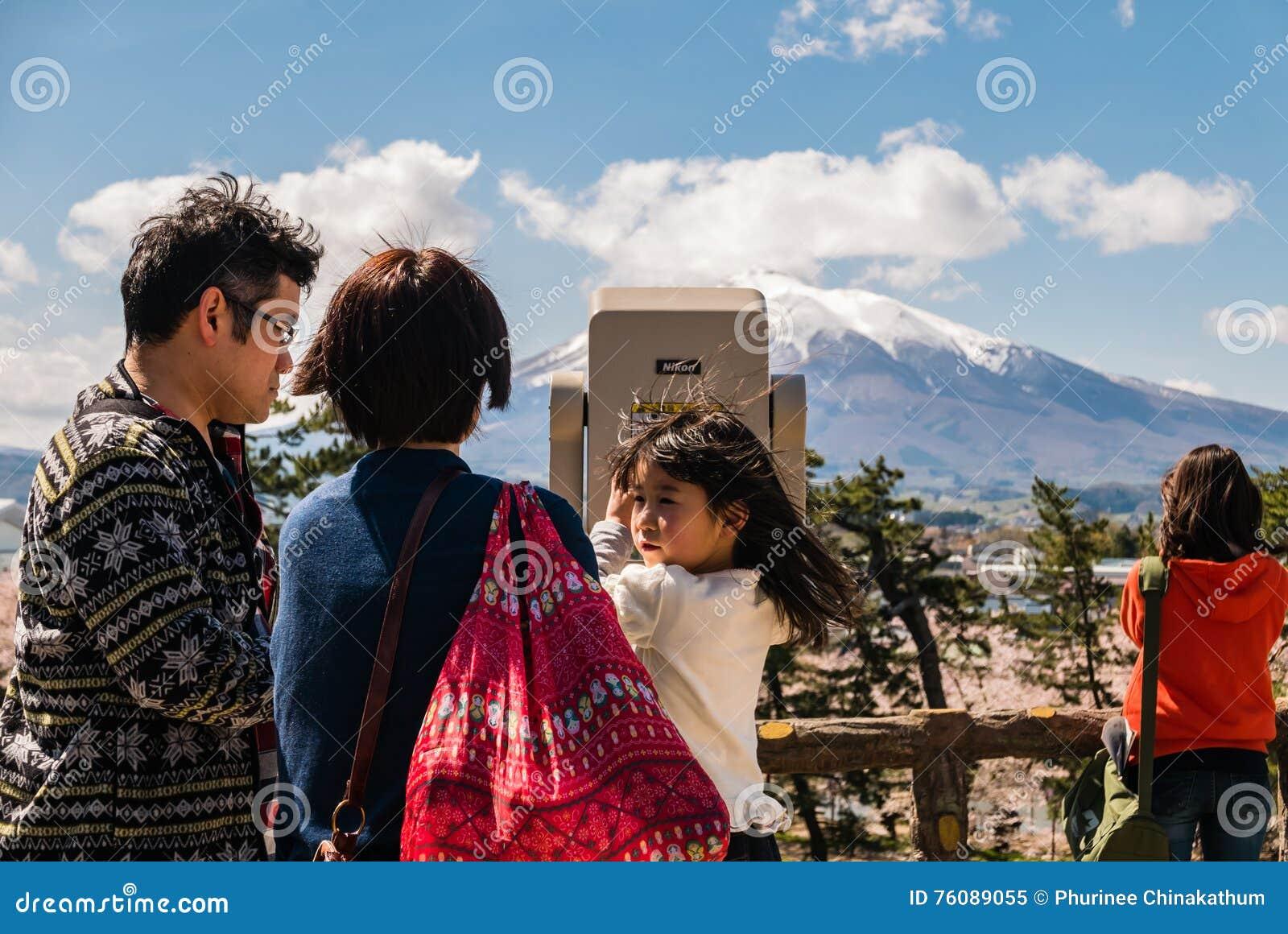 Vue d Iwaki de bâti de parc de château de Hirosaki