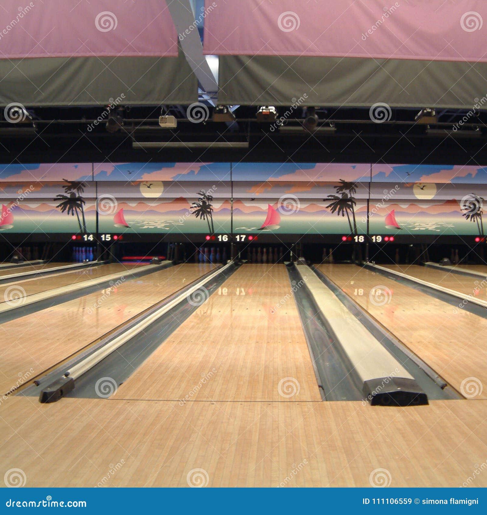 Vue d un bowling