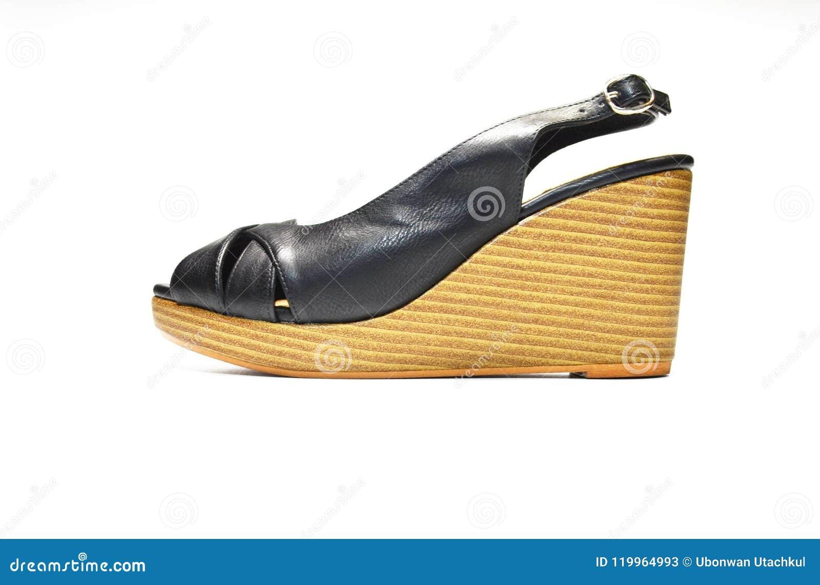 De Femme Haut De Des Vue De Noir Chaussures Talon De Côté 7Yyvbf6g