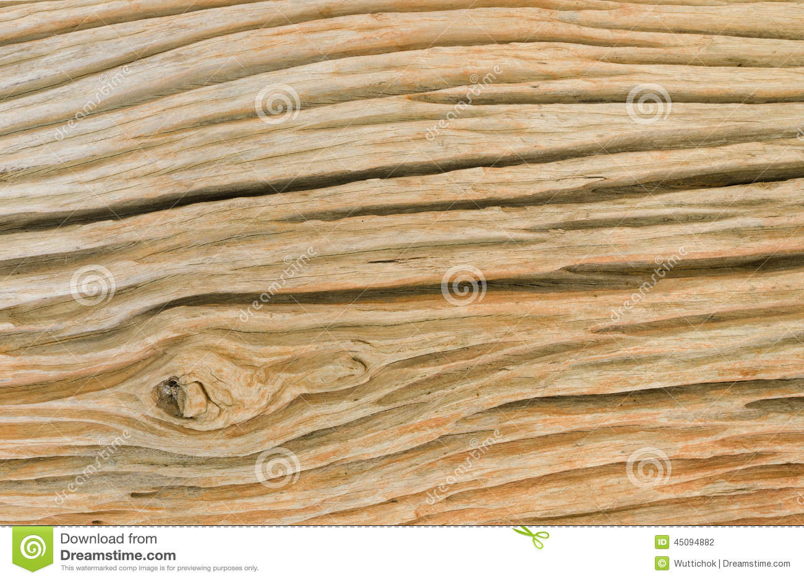 Vue de côté de vieille texture en bois